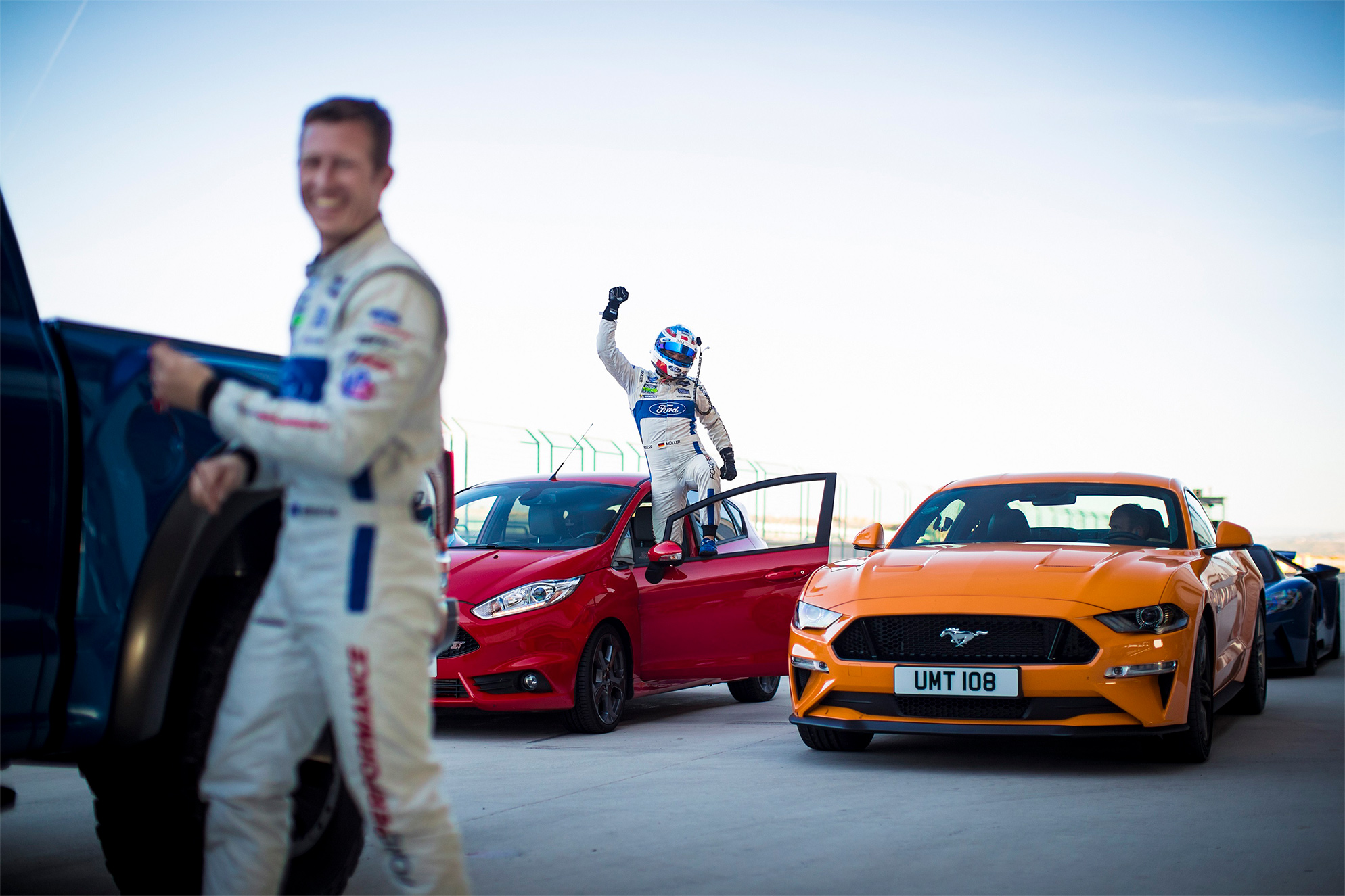 TrackWorthy - Dirk Muller with the Fiesta ST