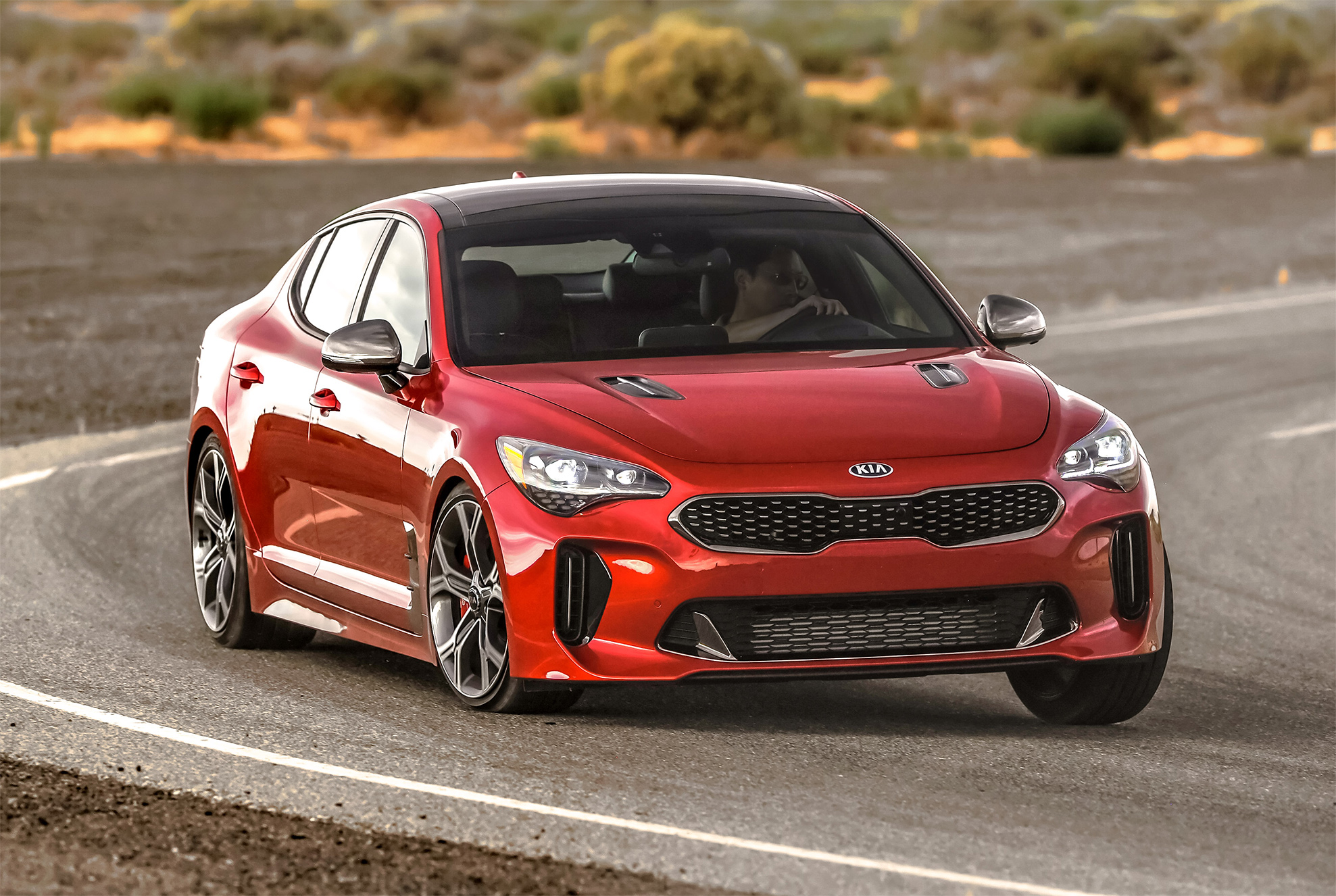 Kia Stinger Super Bowl ad Features Steven Tyler and F1 Champ Emerson