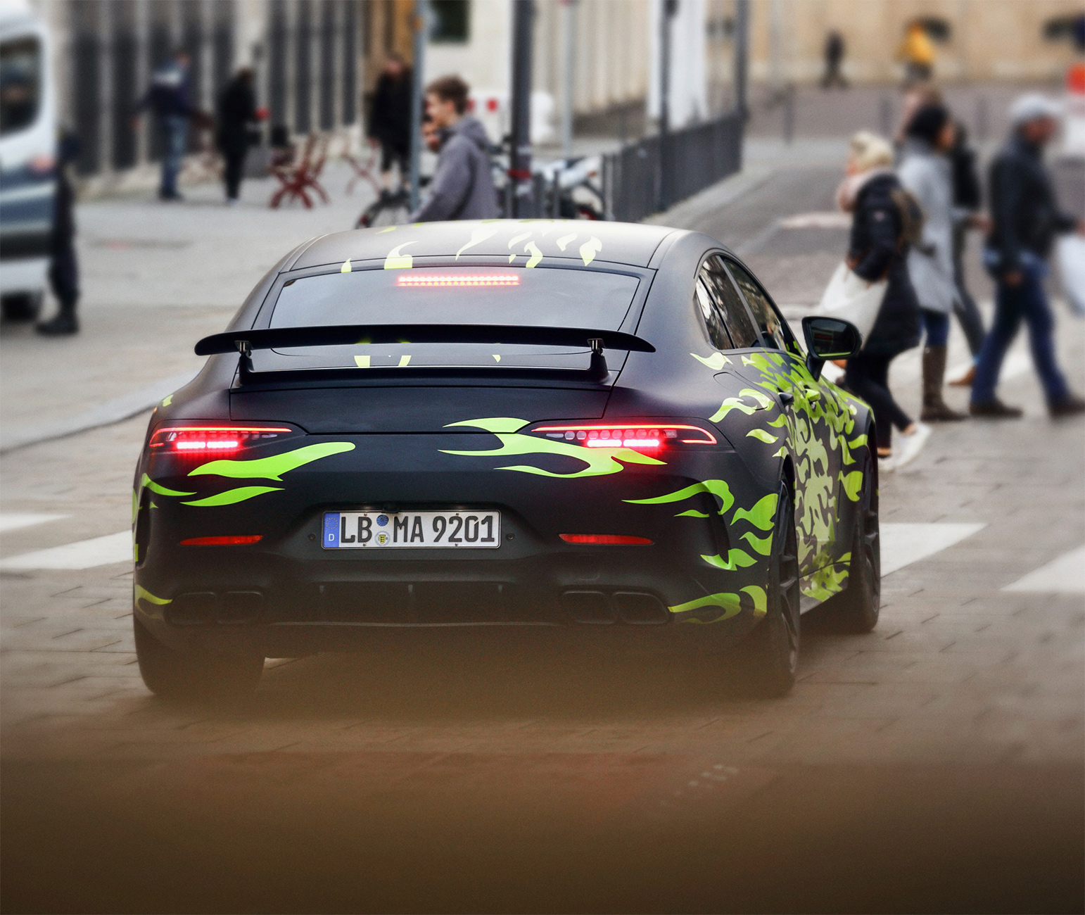 First Ever Mercedes Amg Gt 4 Door Coupe To Be Revealed At