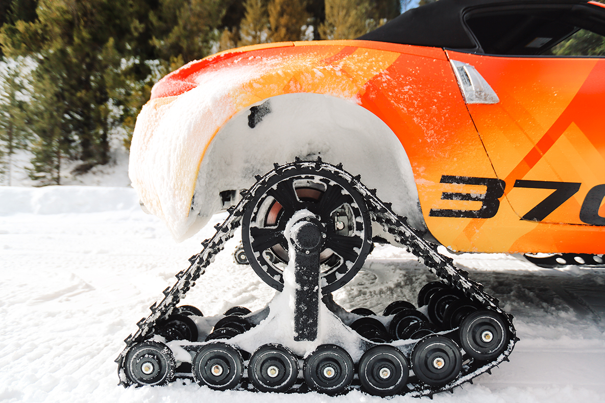 TrackWorthy - Nissan 370Z Roadster Snowmobile - The 370Zki (5)