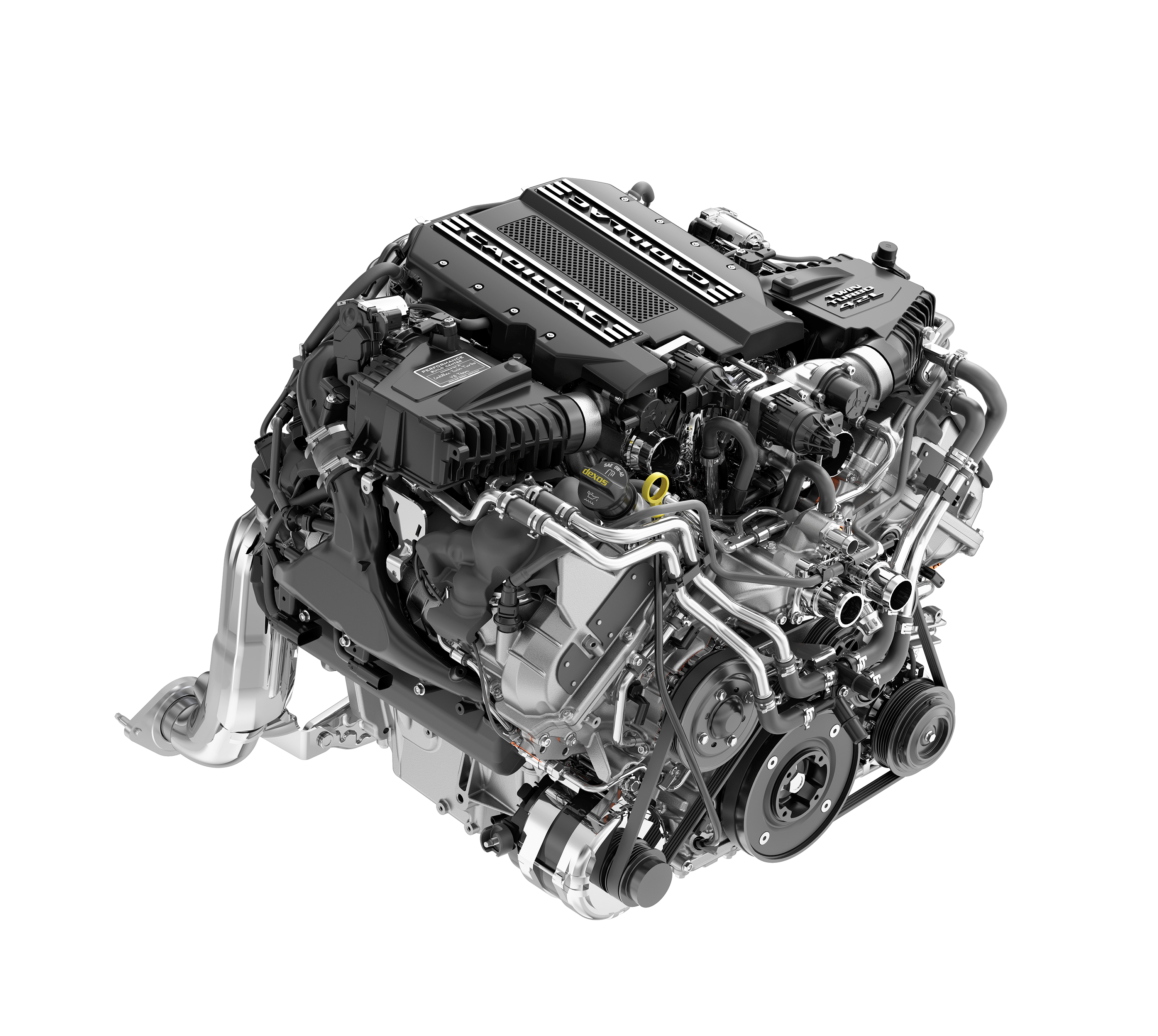 The Cadillac Ct6 V Sport Will Be Powered By An All New Twin Turbo V8 1949 Engine