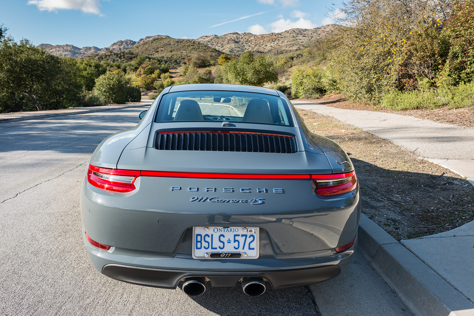 TrackWorthy - Toronto to LA - Porsche 911 C4S 991.2 - 050