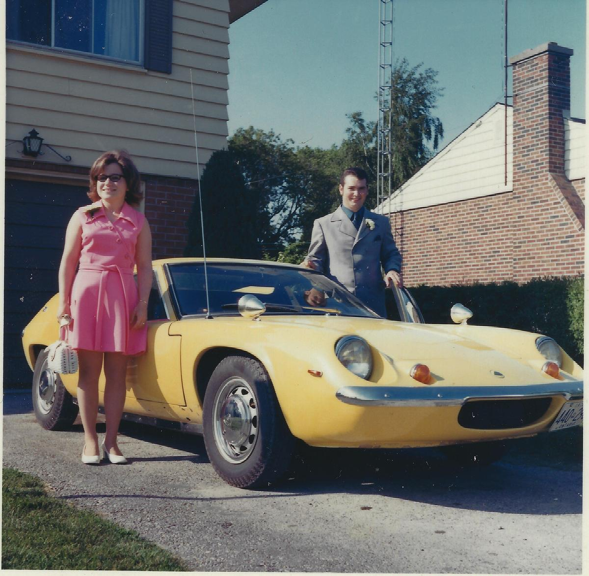 Eye Candy: 1970 Lotus Europa S2