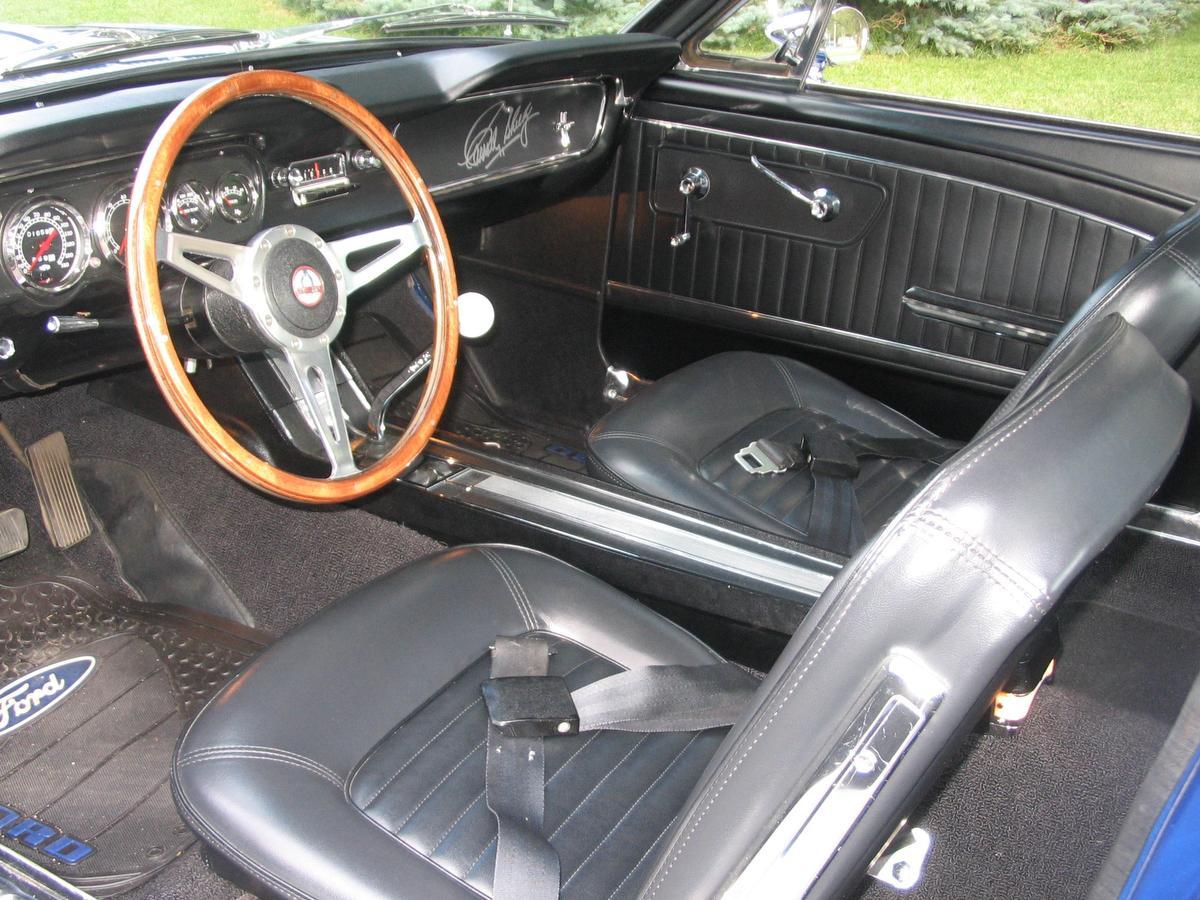 Eye Candy: 1965 Mustang GT 350