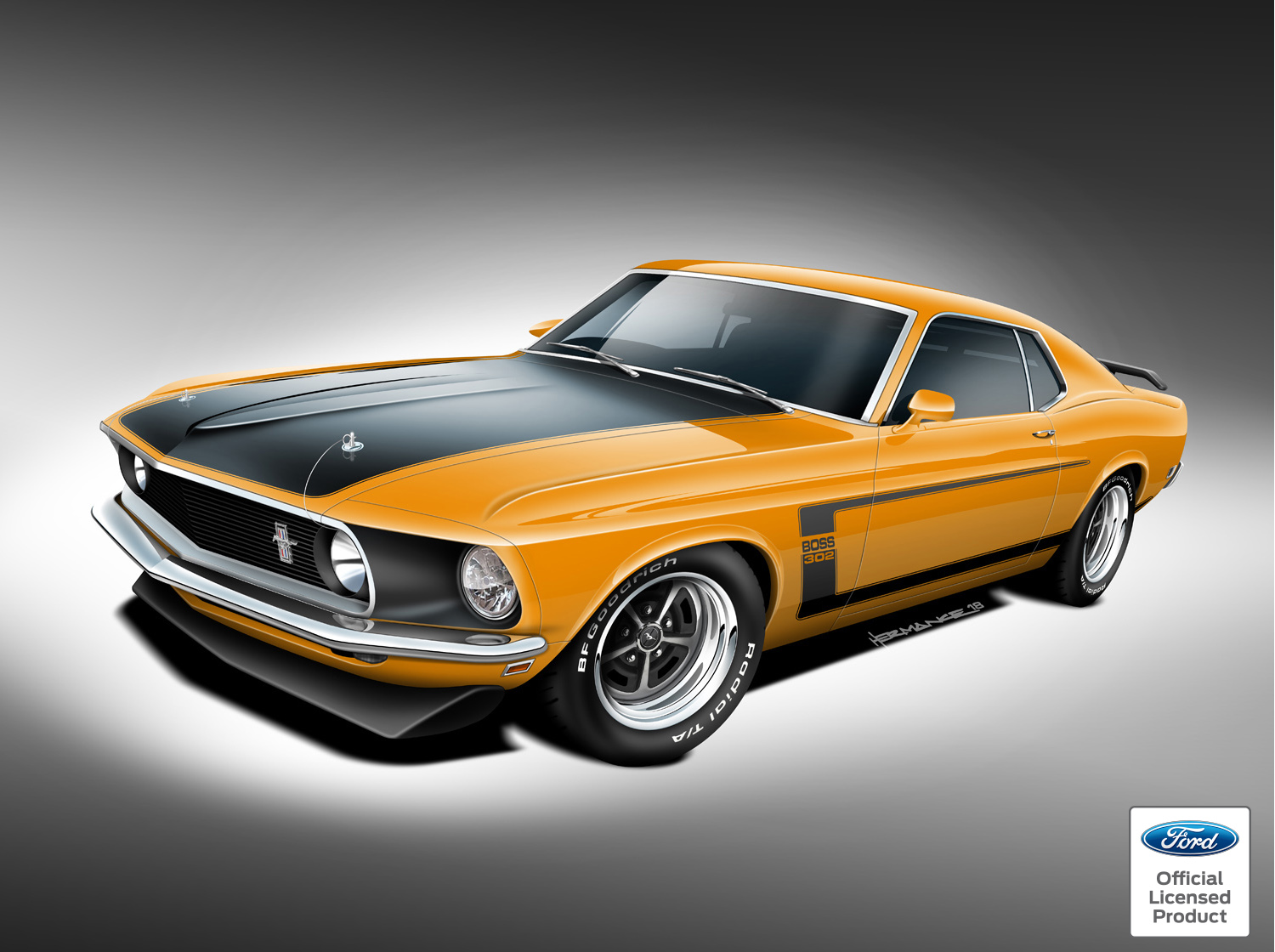 ford approves continuation  classic mustangs wheelsca