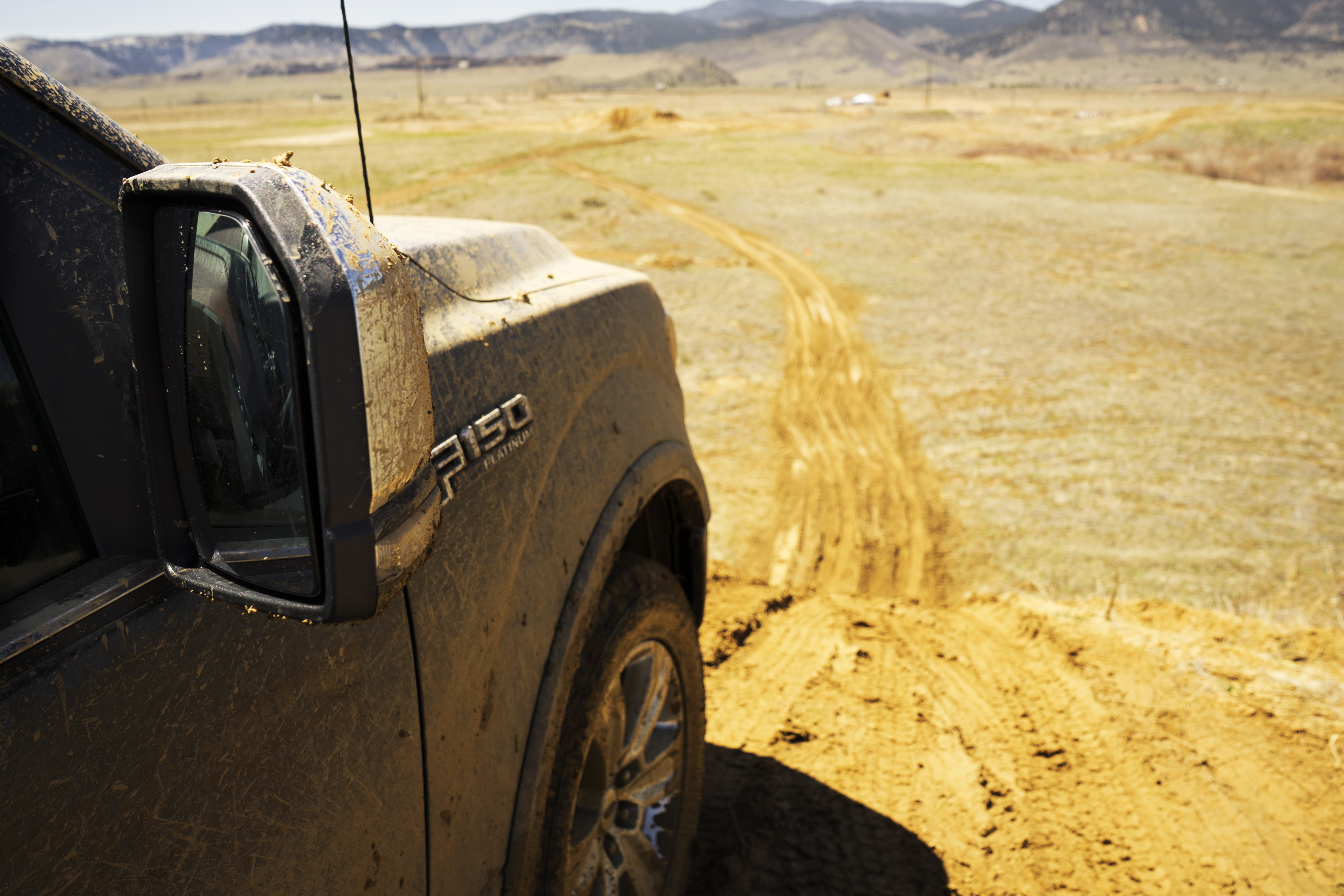 ford f-150 diesel off road