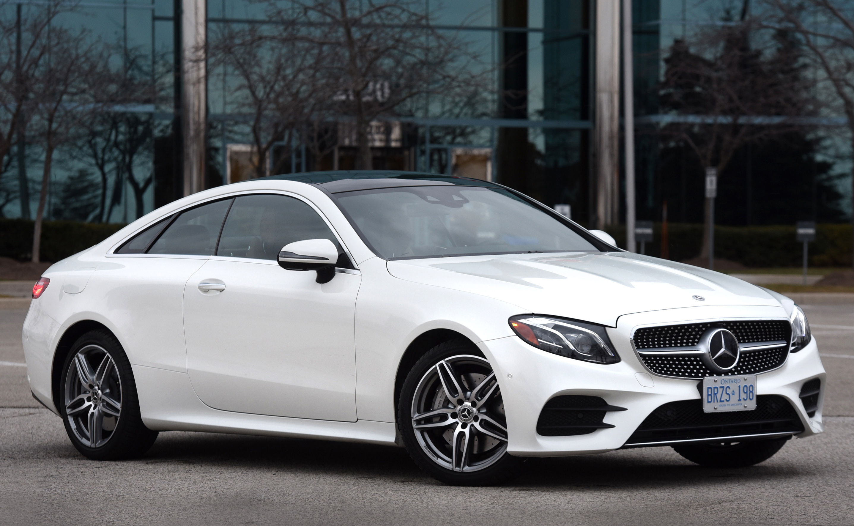 2018 Mercedes-Benz E 400 4Matic Coupe Review