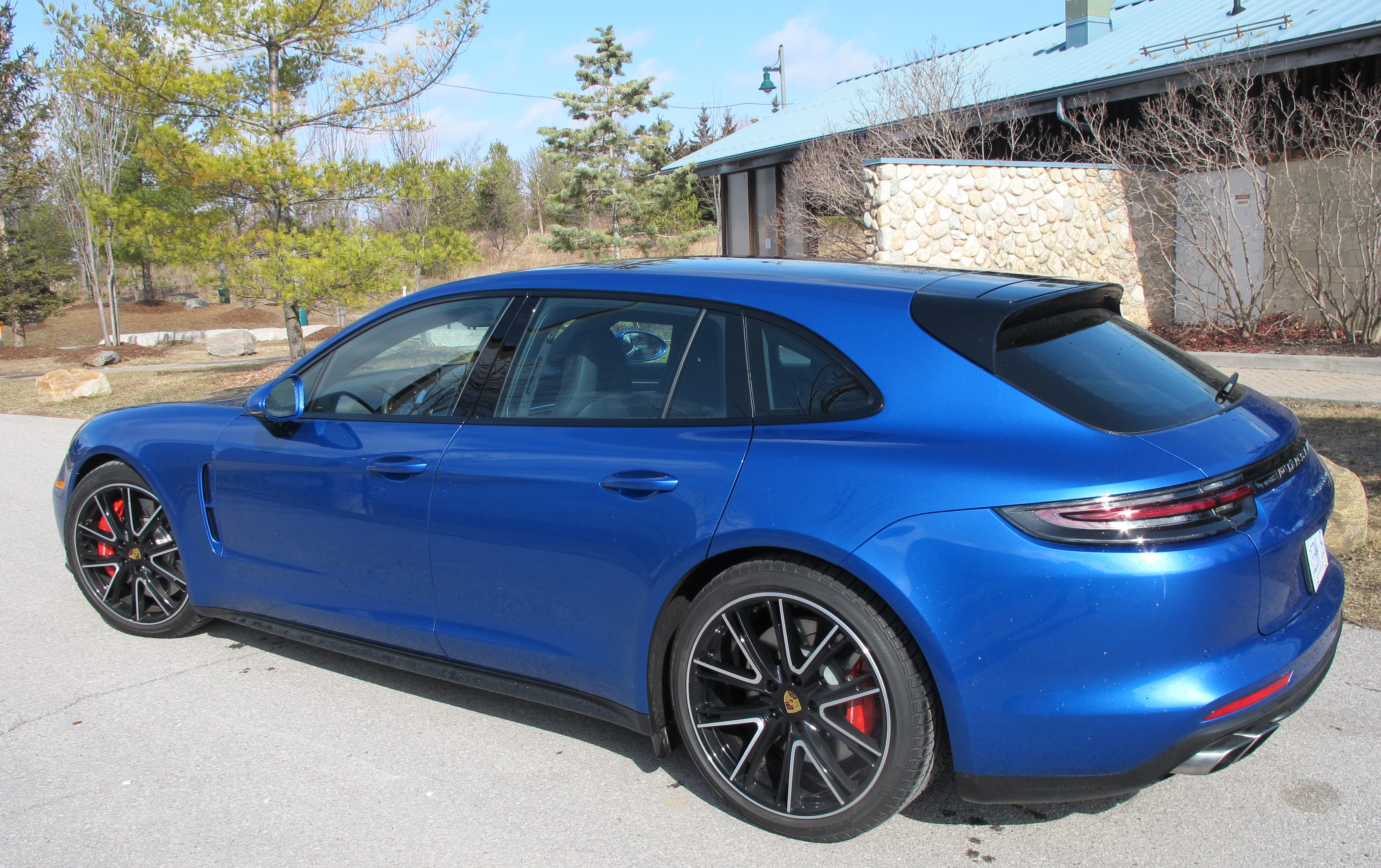 2018 Porsche Panamera Turbo Sport Turismo review