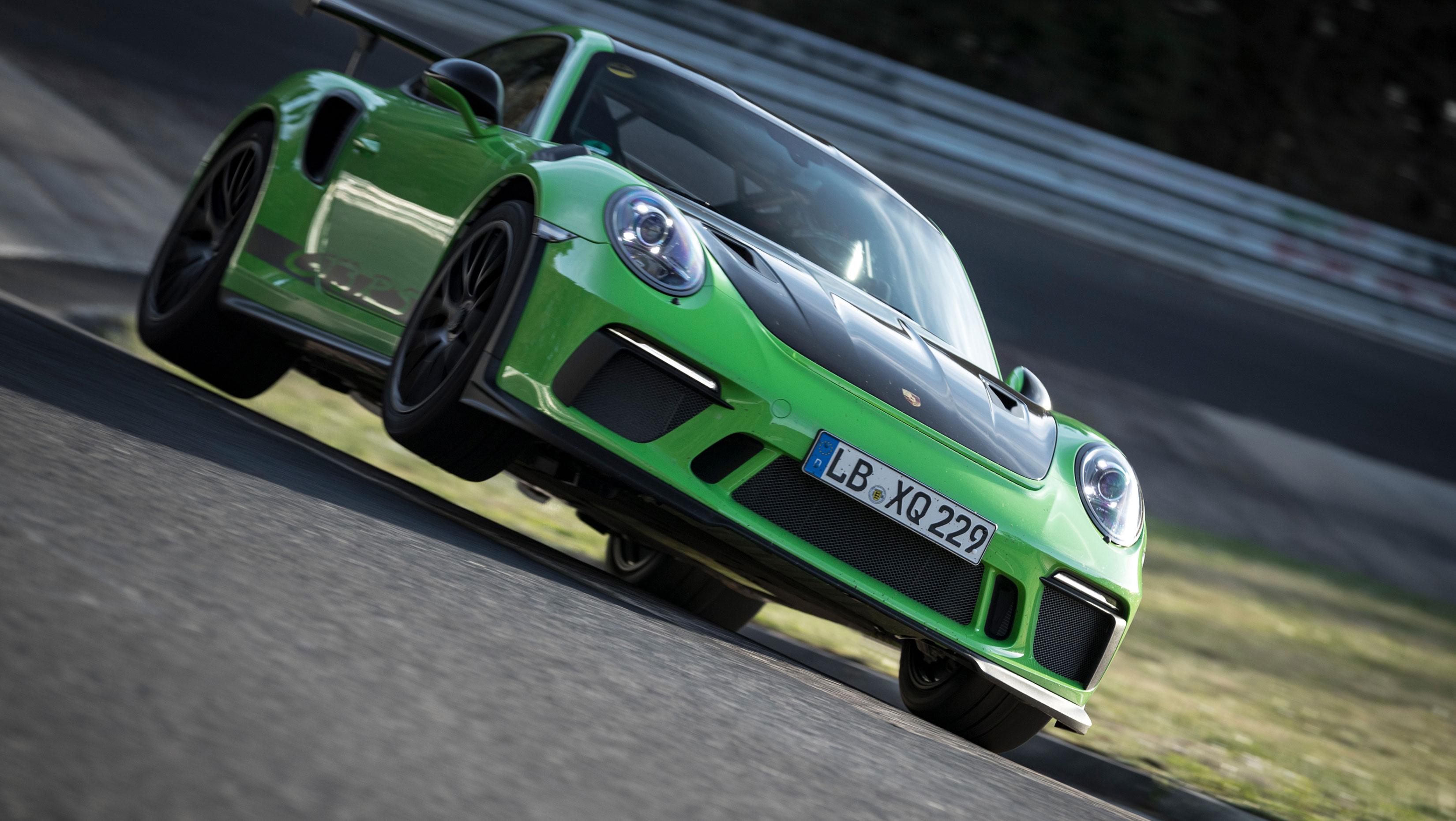 TrackWorthy - Porsche 911 GT3 RS Nurburgring Record - 03
