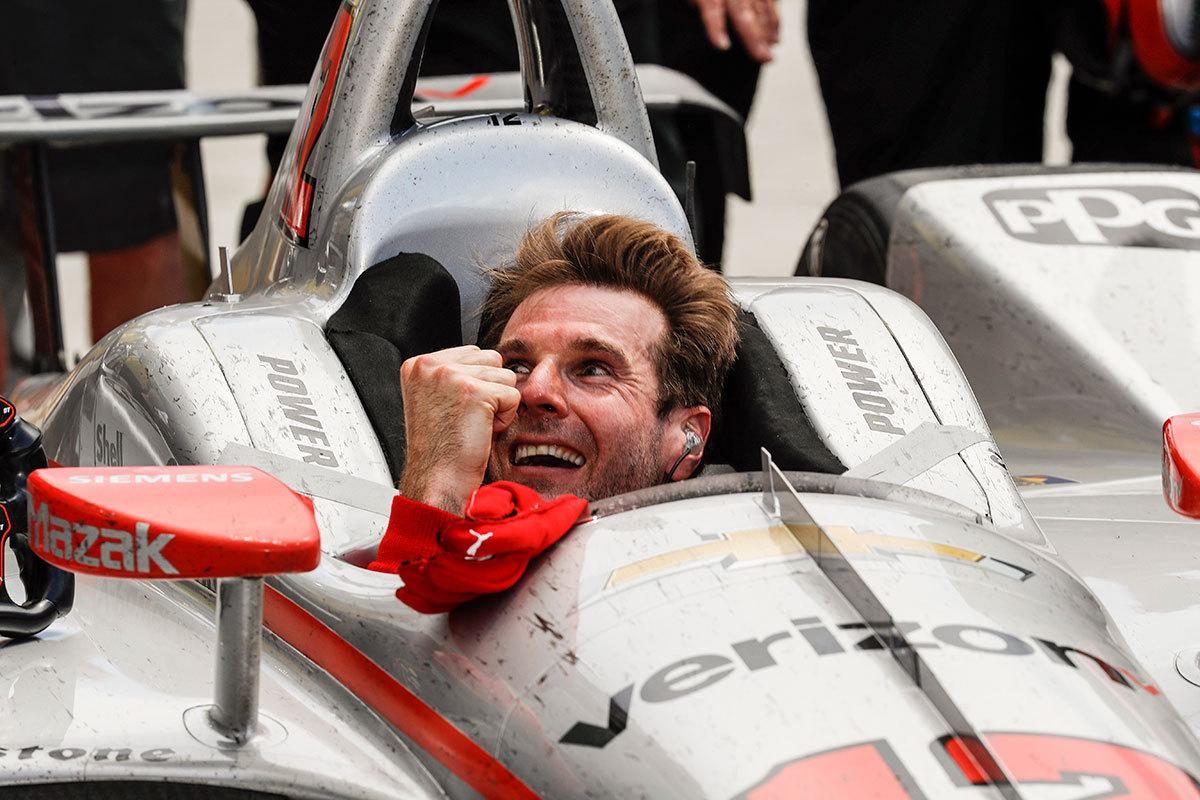 Danica Patrick drove her last race