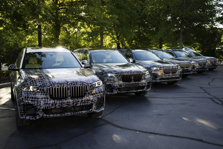 BMW X7 spy