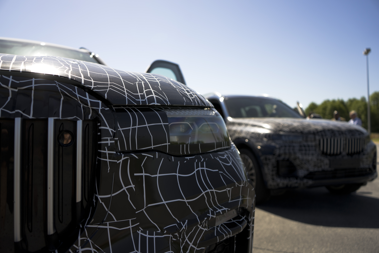 BMW X7 2019 drive