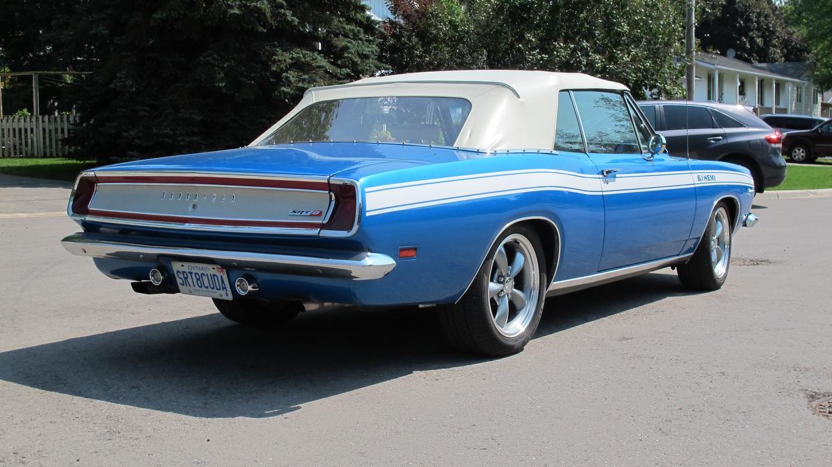 Eye Candy: 1969 Plymouth Barracuda – WHEELS ca