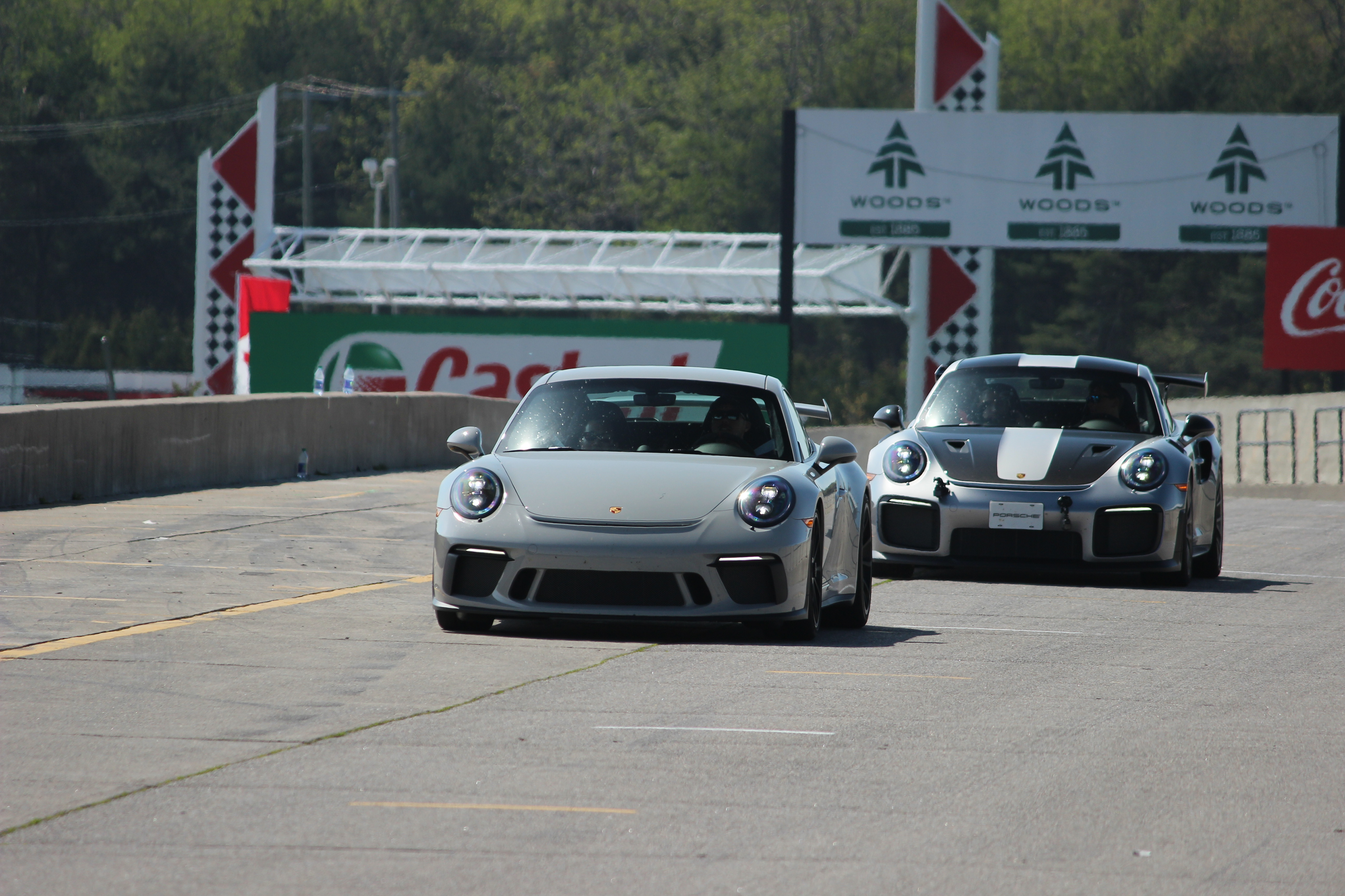 Track Day with a Plethora of Porsches