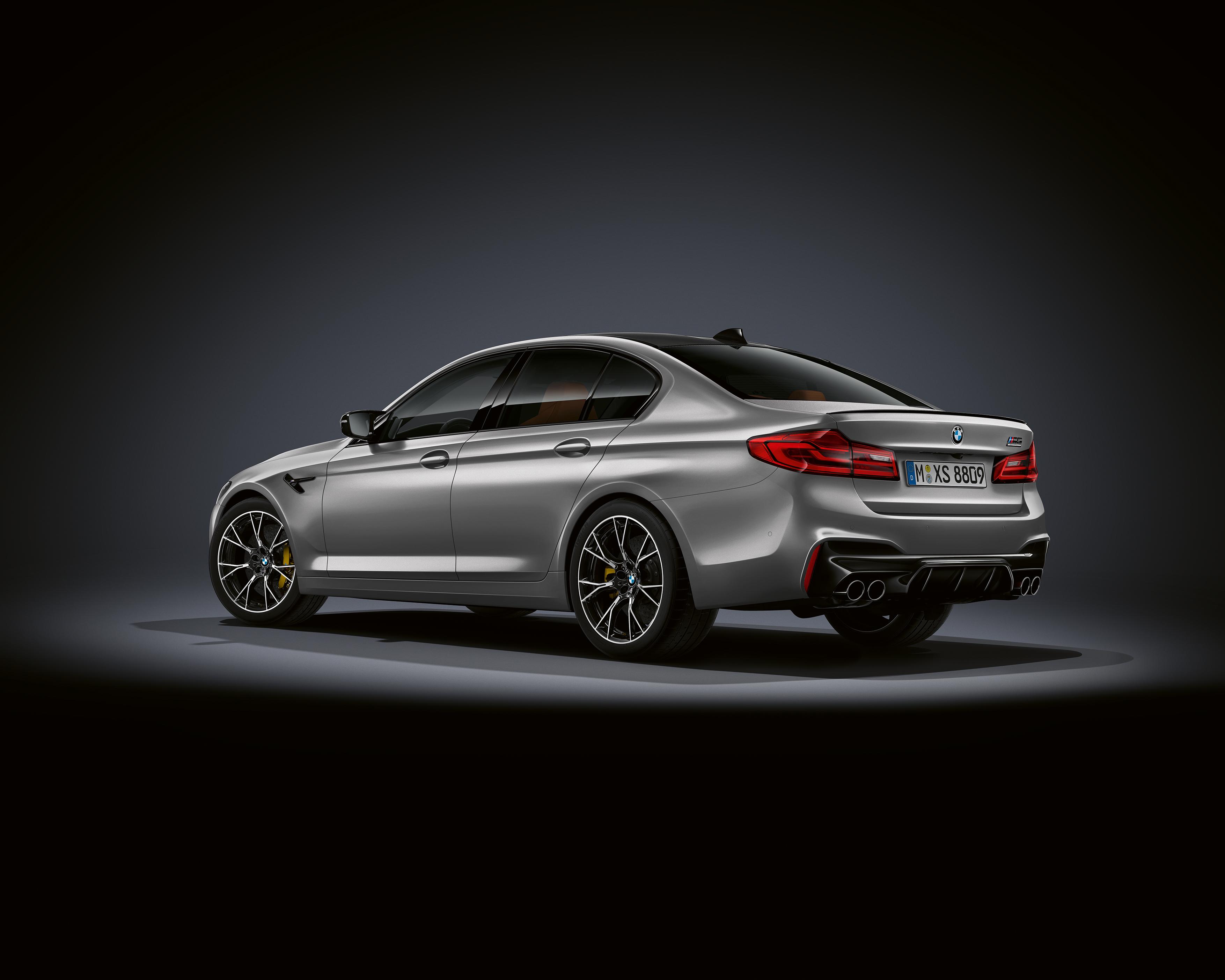 BMW M5 Competition Details
