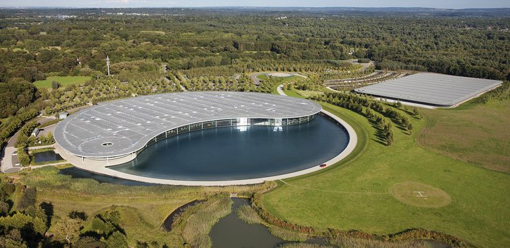 TrackWorthy - McLaren Technology Centre