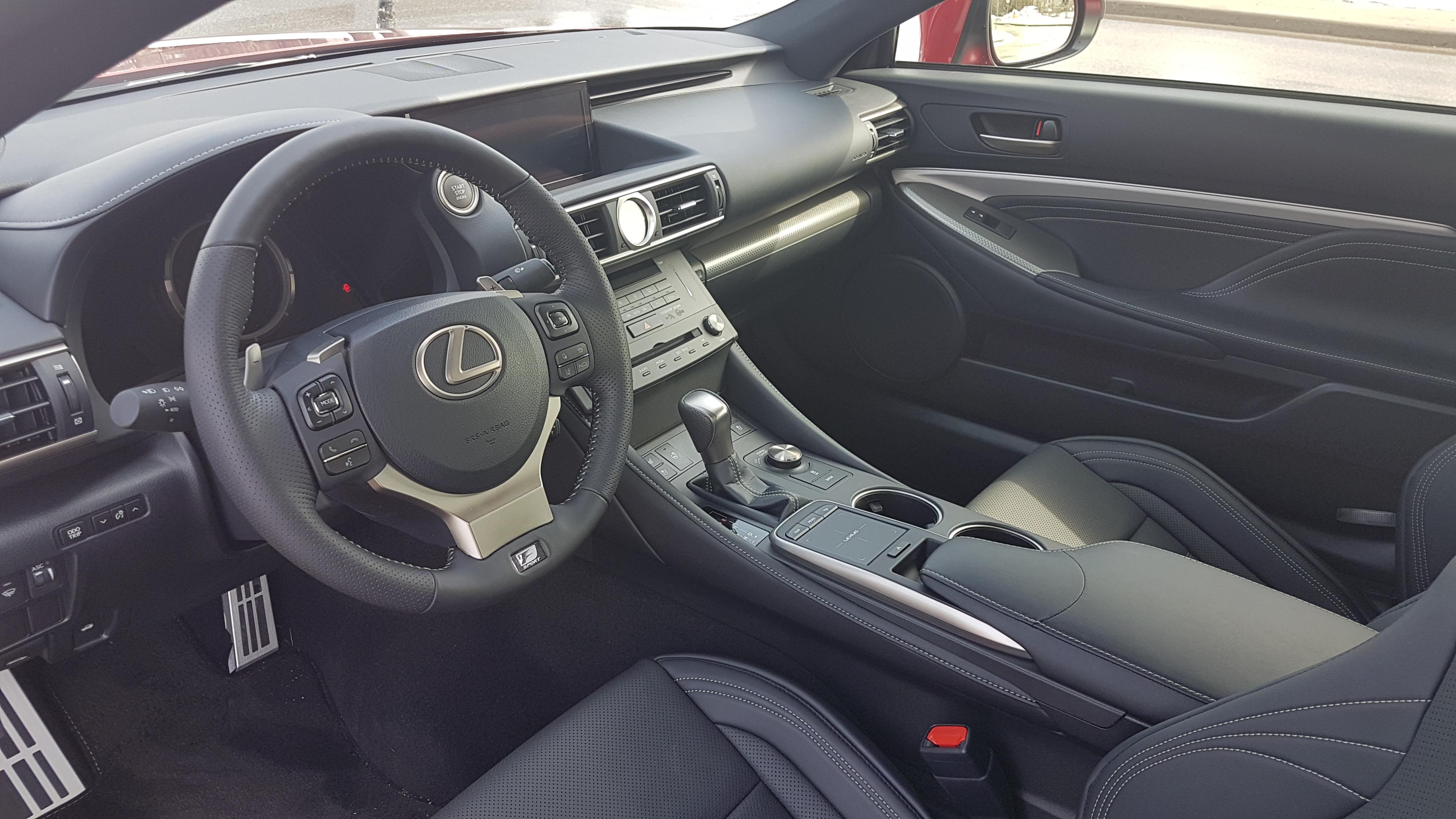 2018 Lexus RC 300 interior