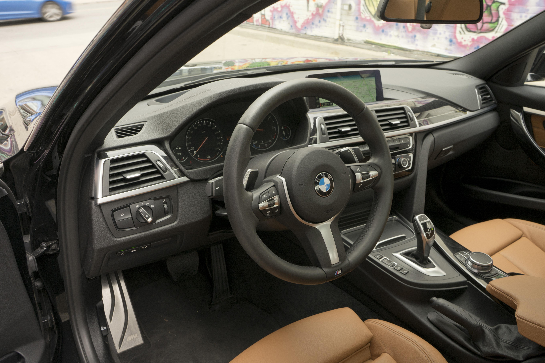BMW 328d interior