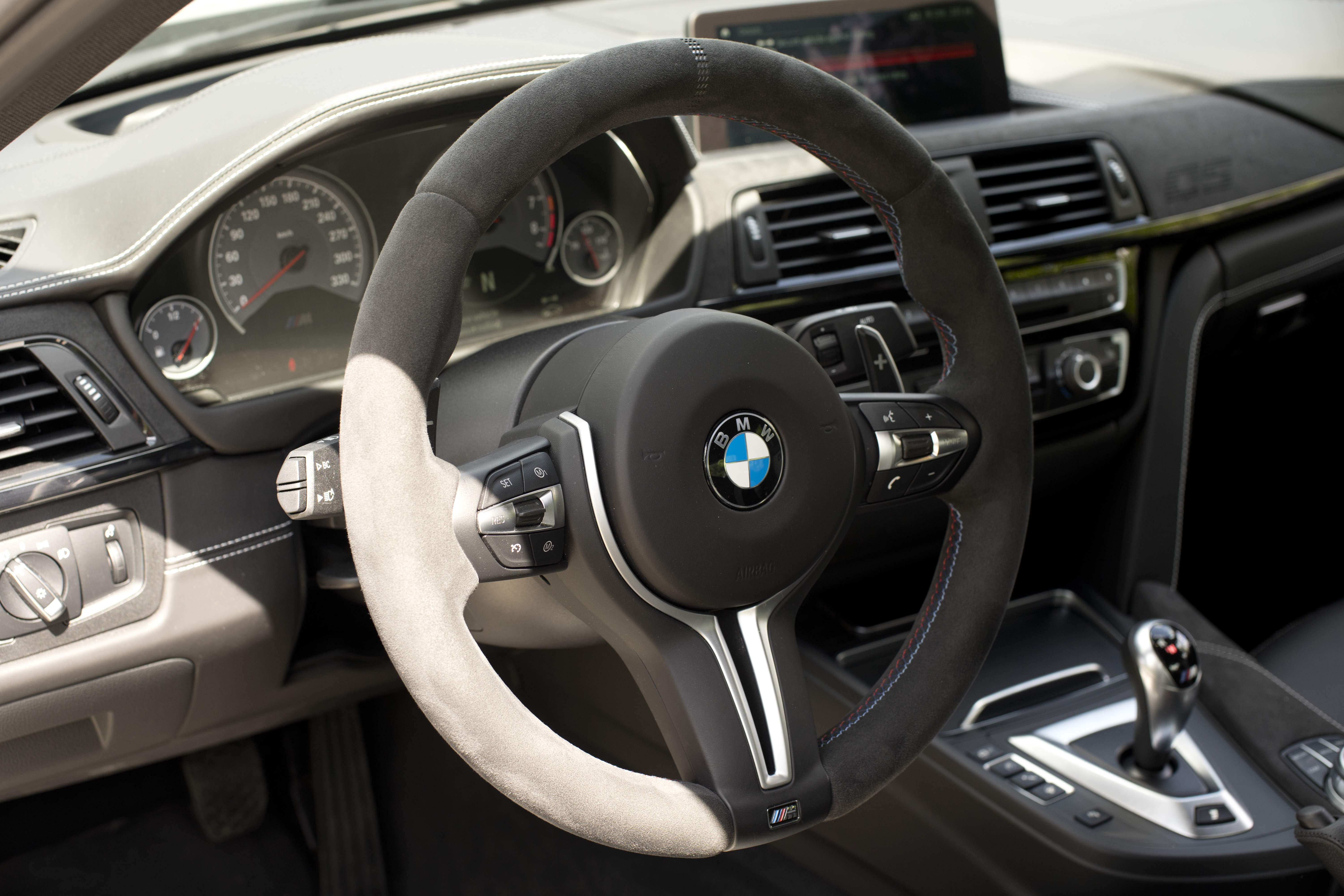 BMW M3 CS interior