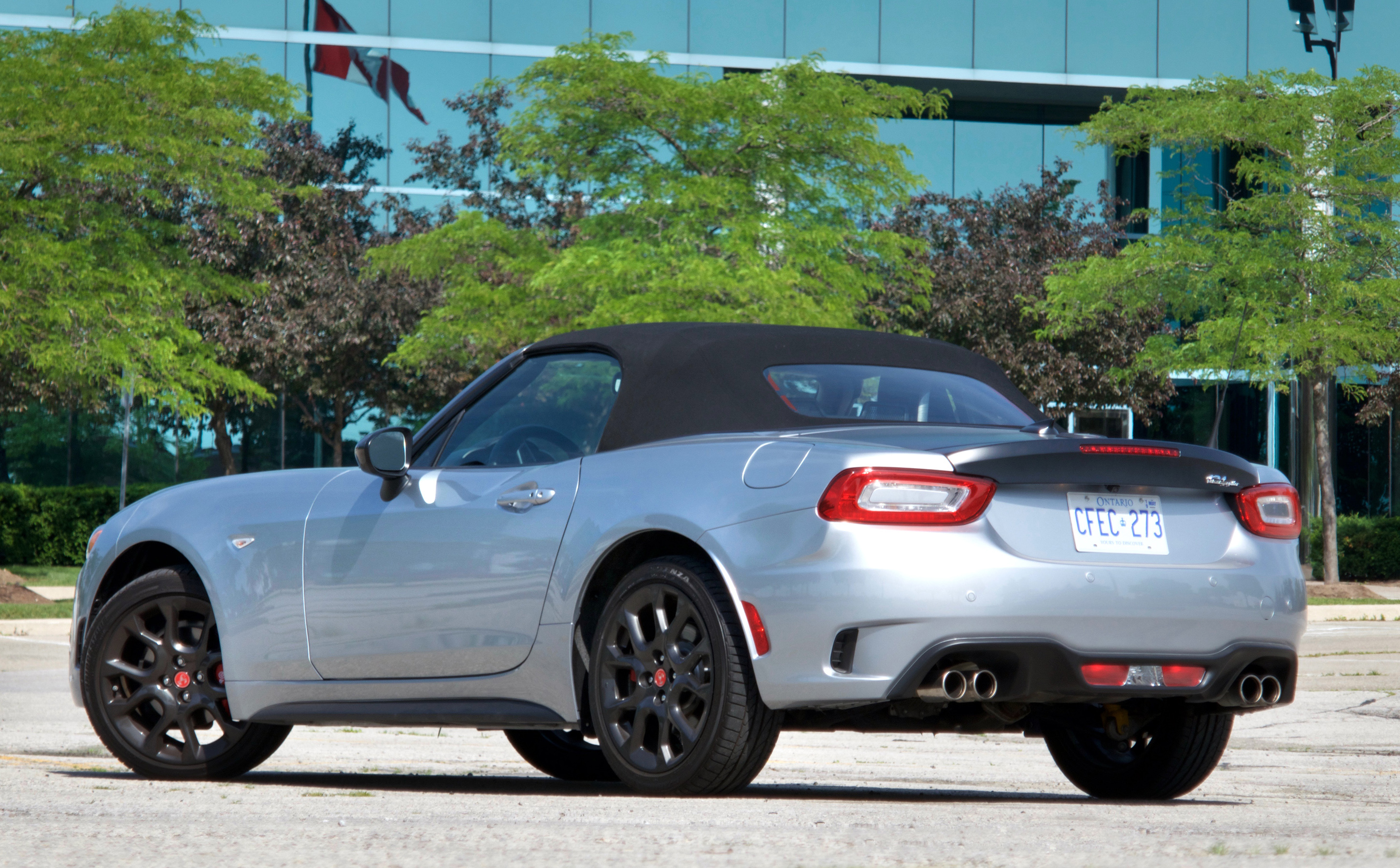 Review 2018 Fiat 124 Spider Abarth