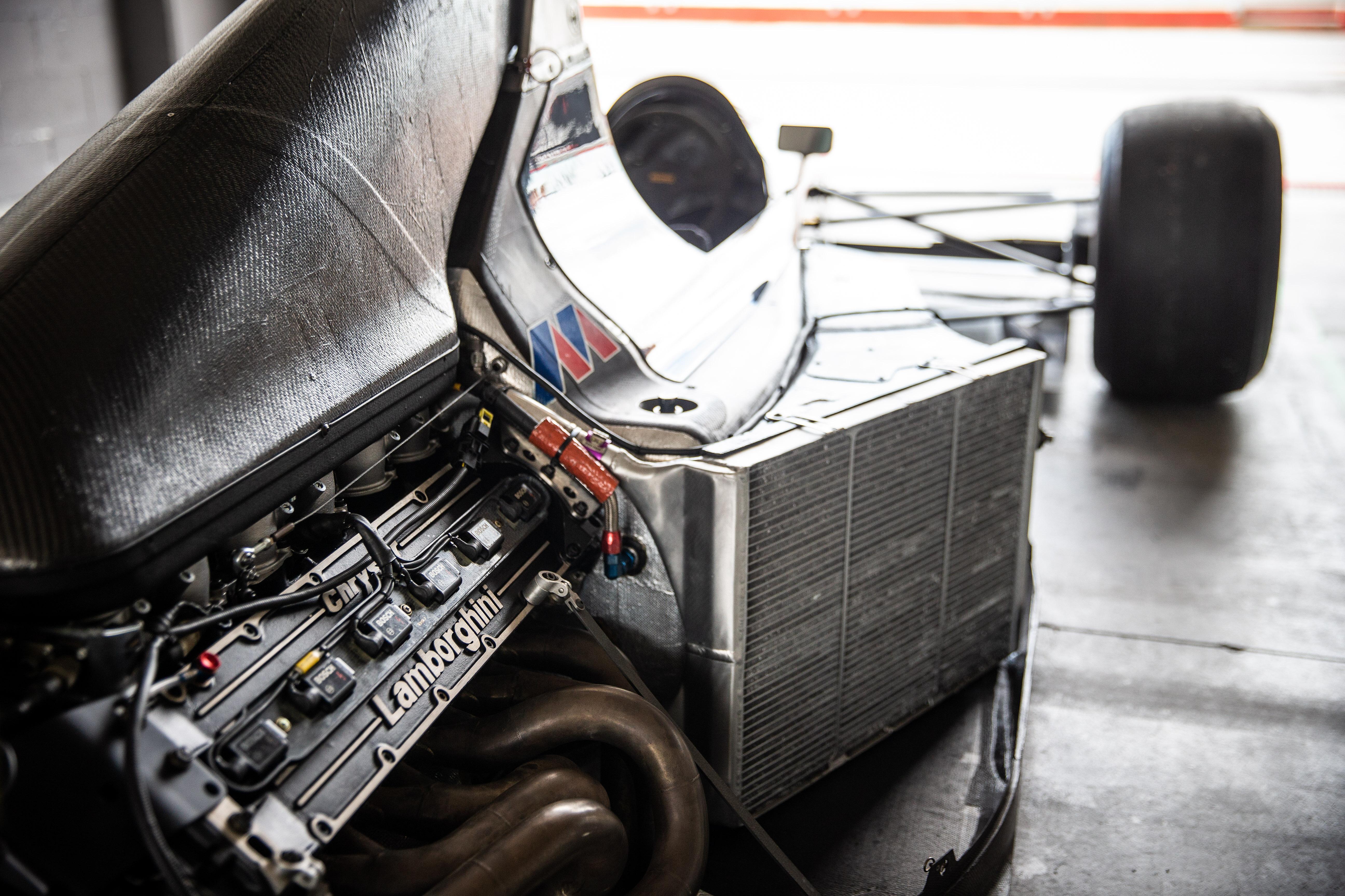 Minardi M191B chassis #003