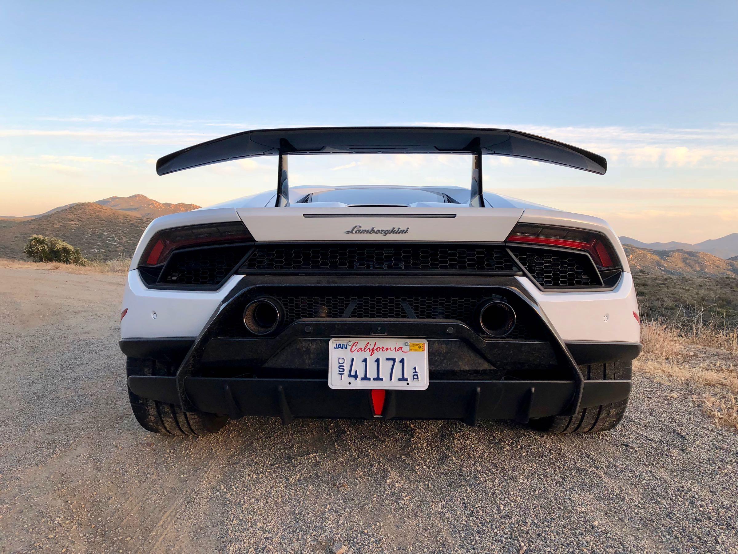 Review 2018 Lamborghini Huracan Performante Wheels Ca