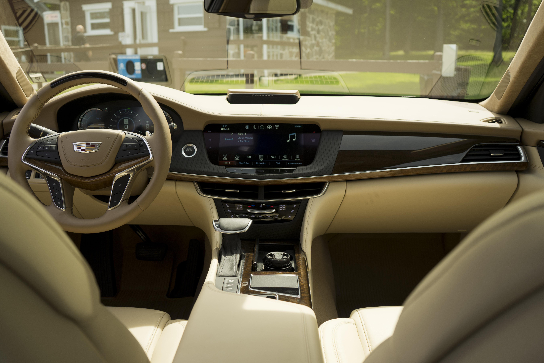 2018 Cadillac CT6 Platinum interior