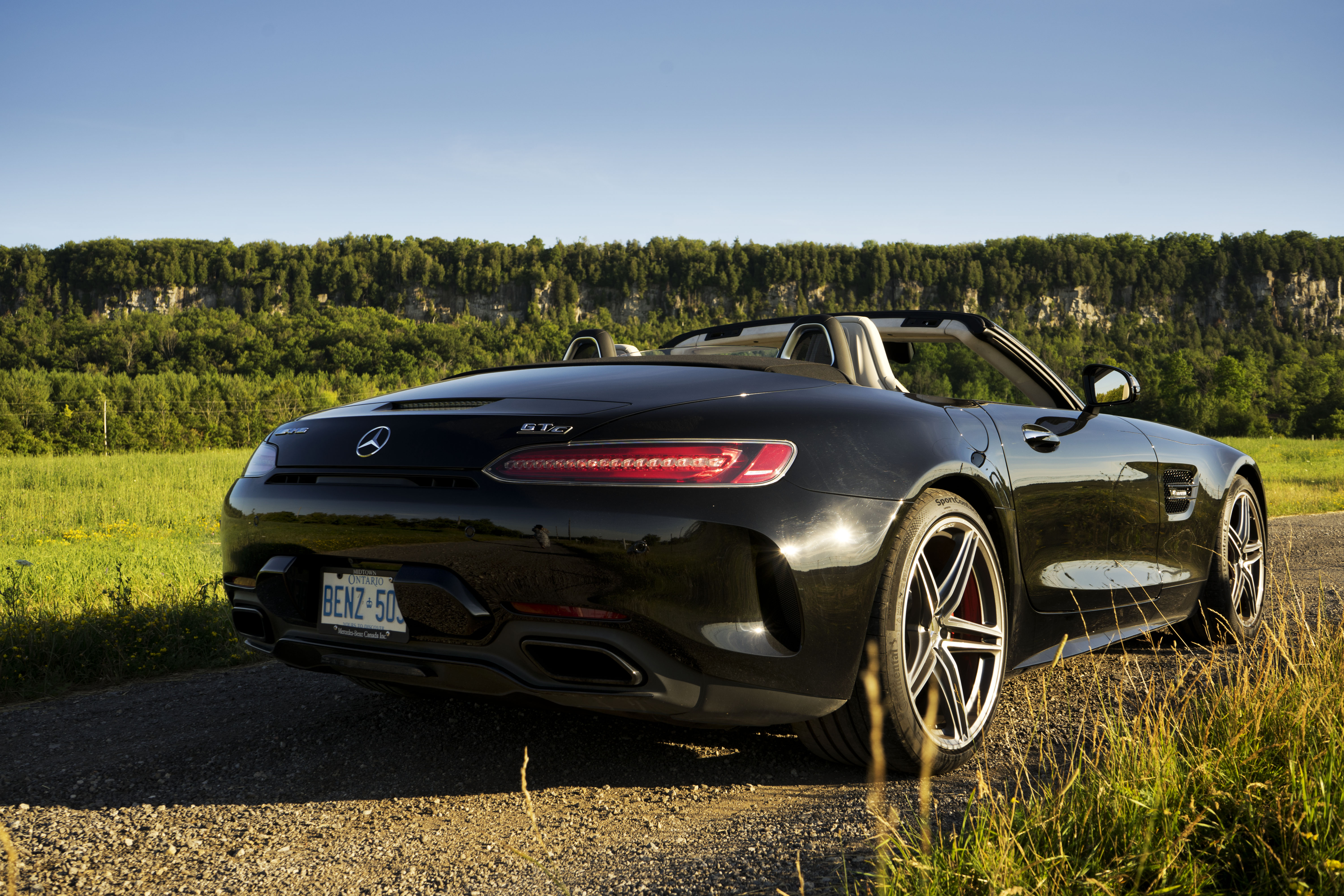 2018 Mercedes-AMG GT C Roadster rear