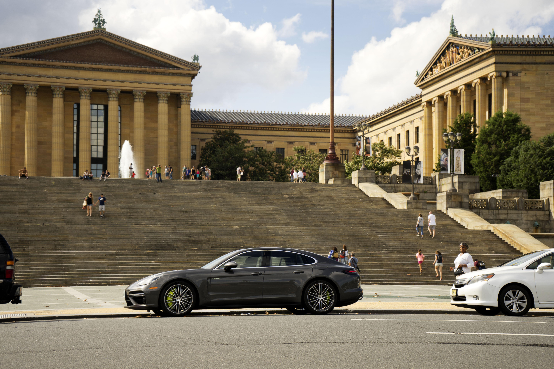 Porsche Panamera turbo s e hybrid philliadelphia