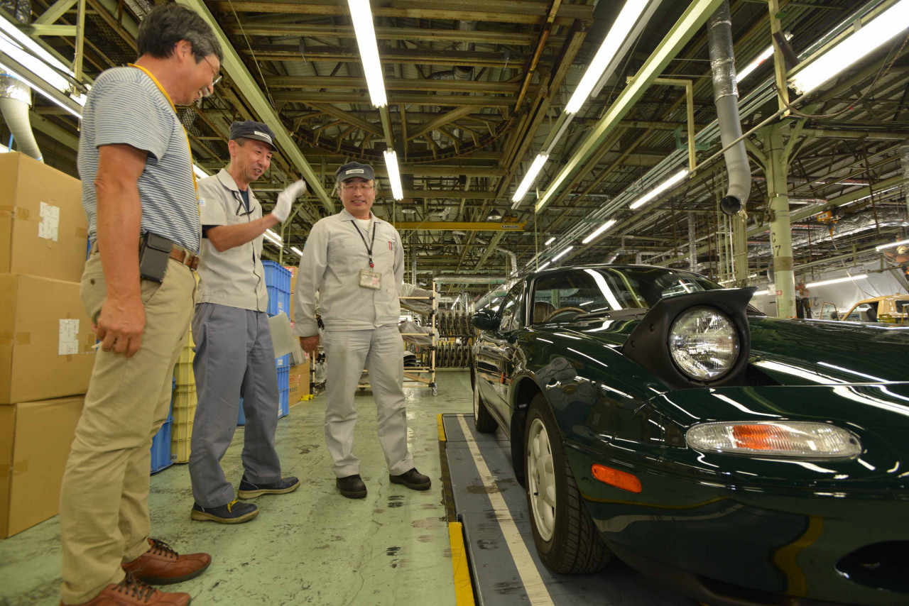O2Cool: Mazda's First Factory-Restored Miata
