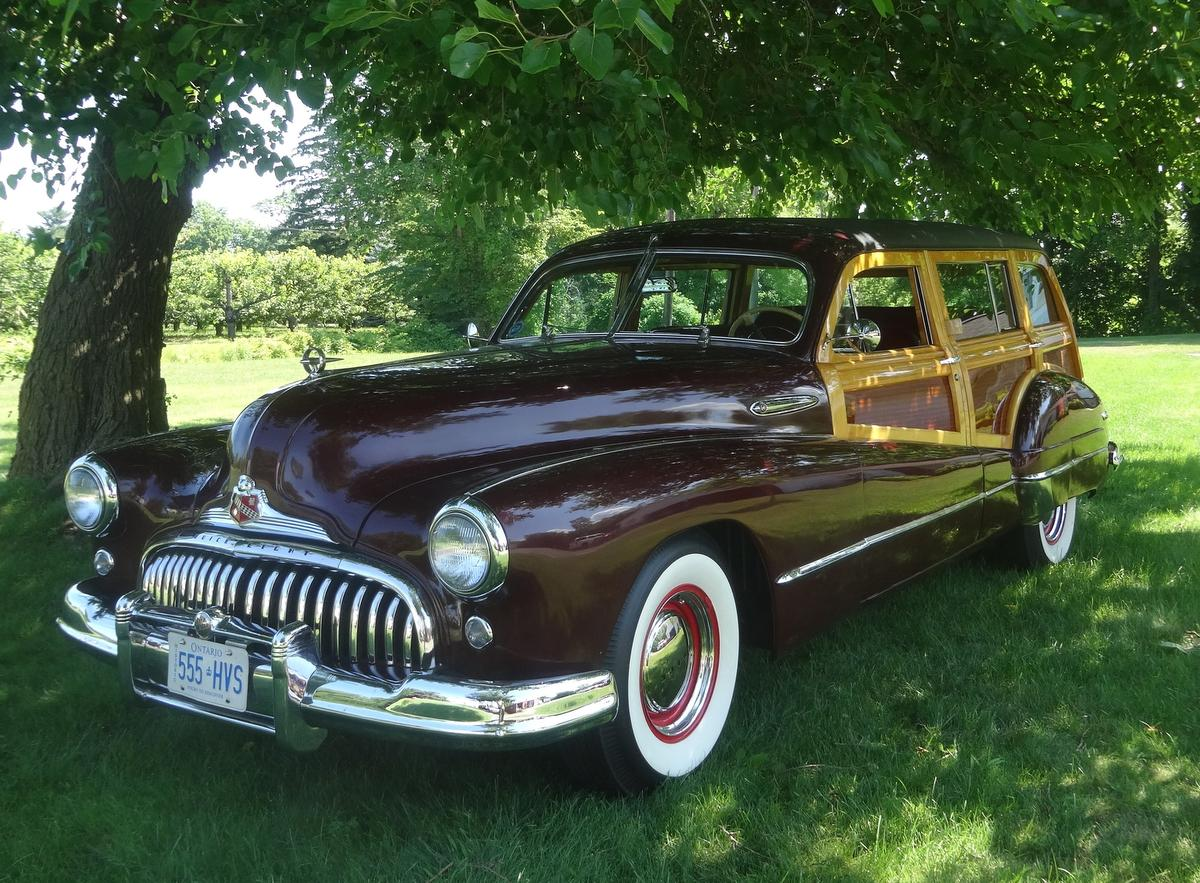 Eye Candy 1947 Buick Roadmaster Estate