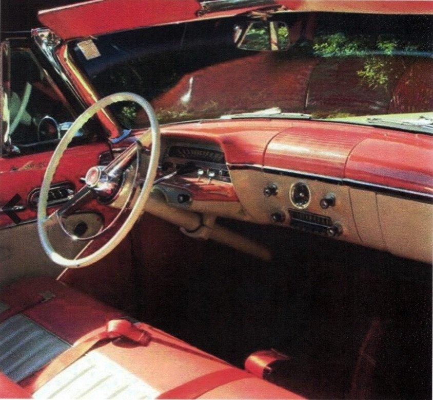 Eye Candy 1954 Mercury Monterey Convertible