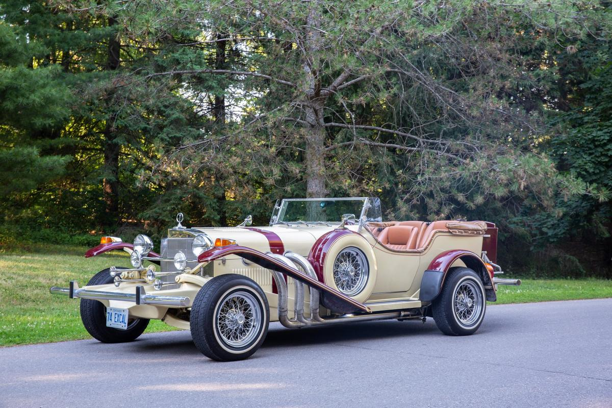 Eye Candy 1974 Excalibur Phaeton SS Series II