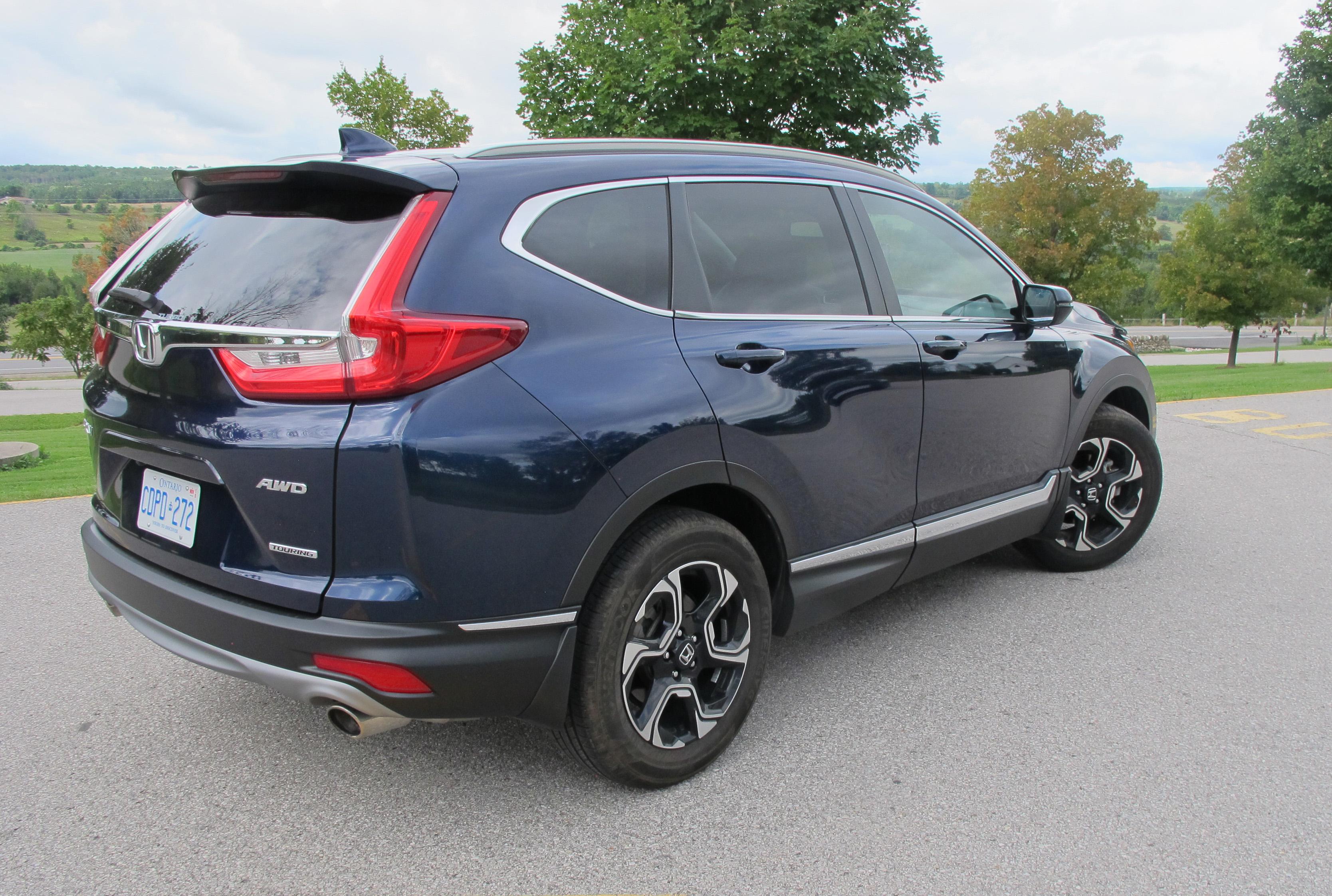 Review 2018 Honda CR-V Touring