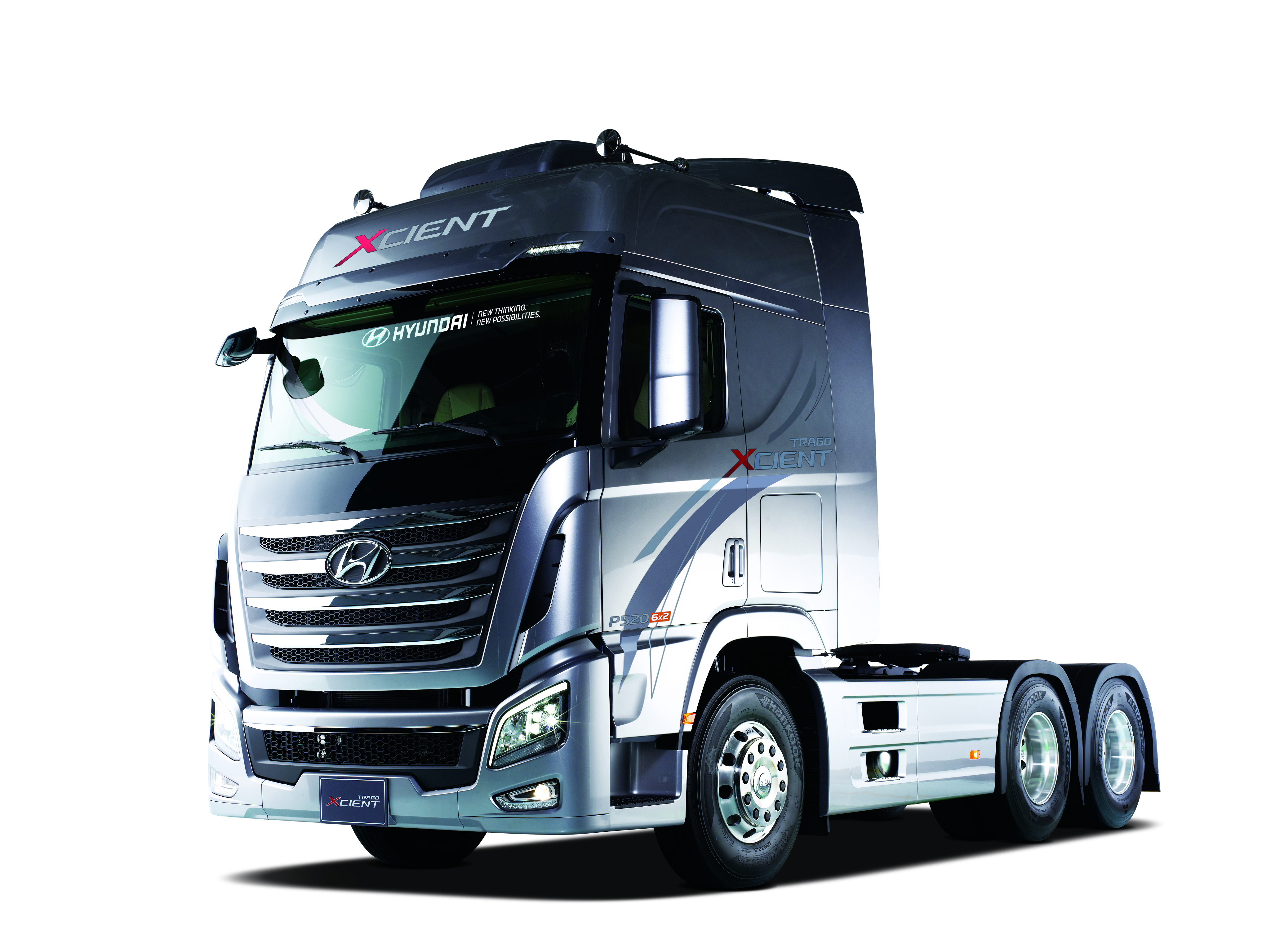 Xcient Fuel Cell Truck