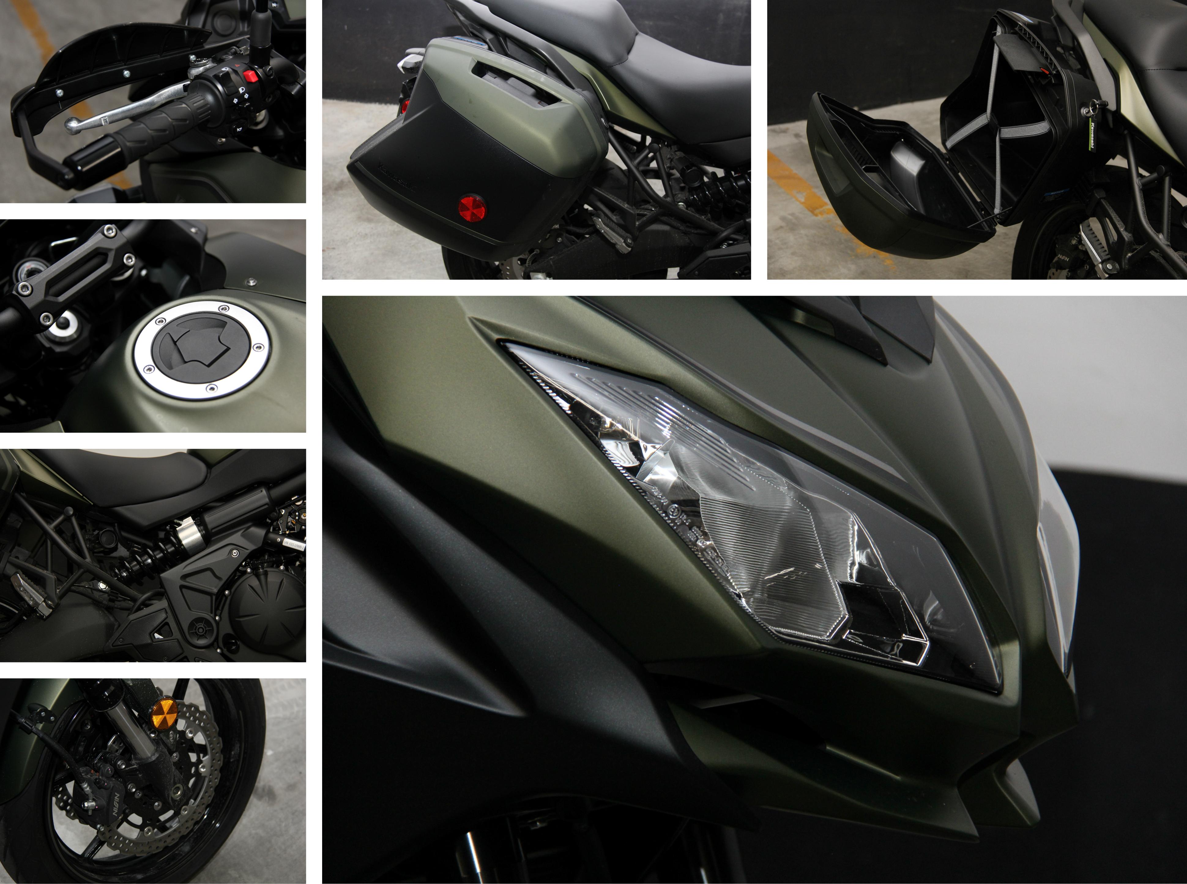 Review 2018 Kawasaki Versys 650 Abs Lt Wheelsca