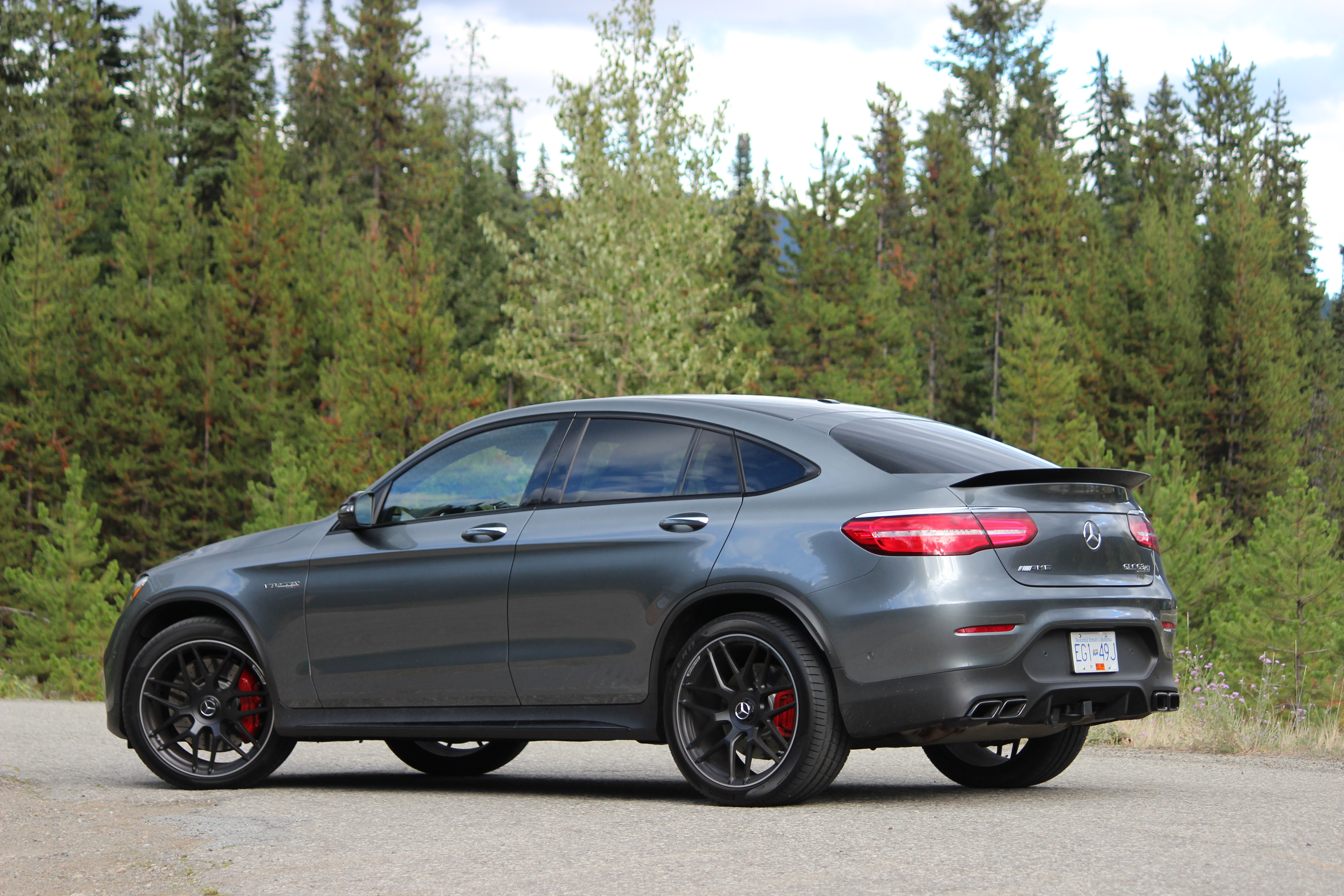 Review 2018 Mercedes Amg Glc 63 S 4matic Coupe Wheels Ca