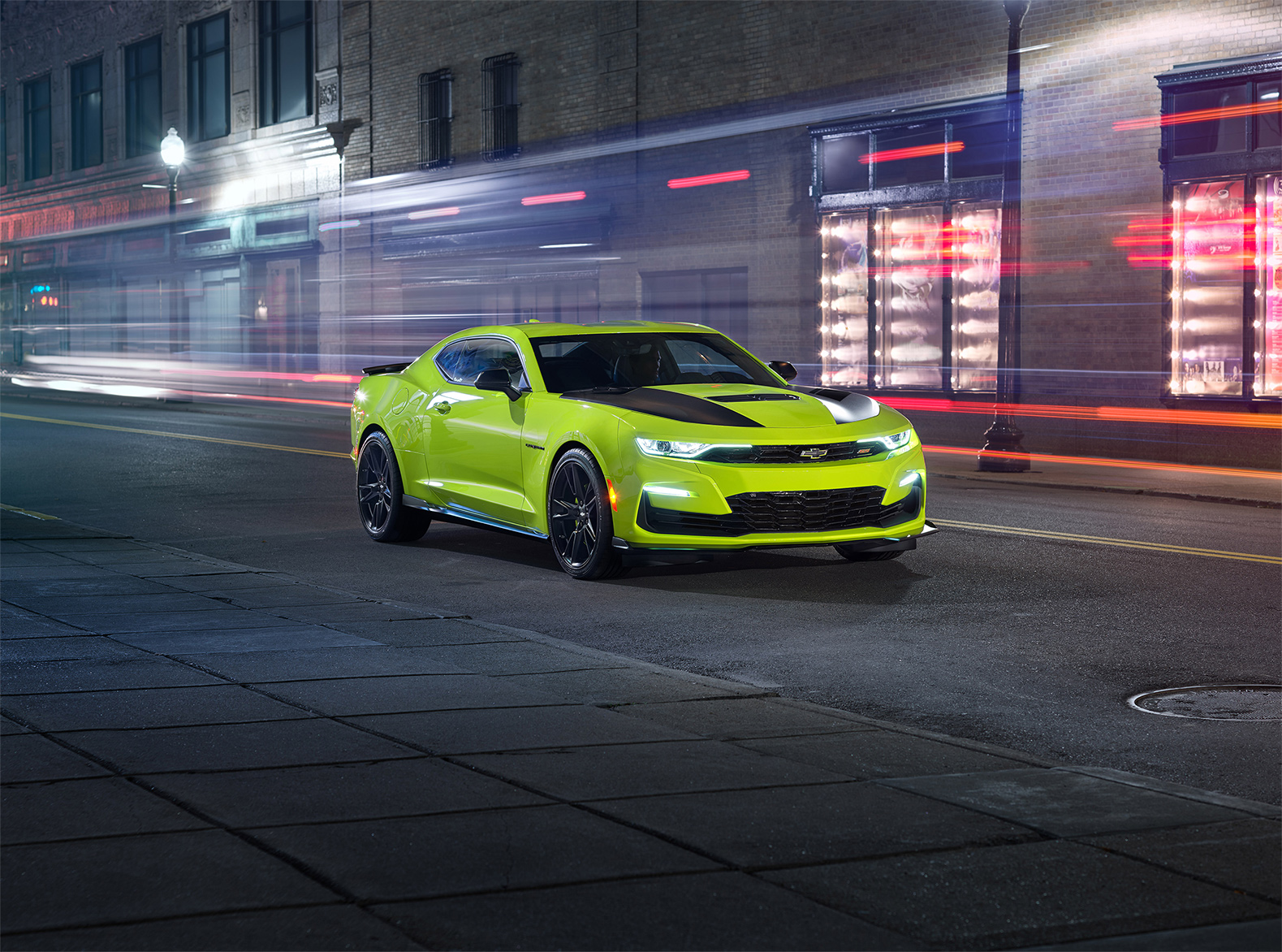 TrackWorthy - 2019 Chevrolet Camaro SS Coupe Shock Yellow (4)