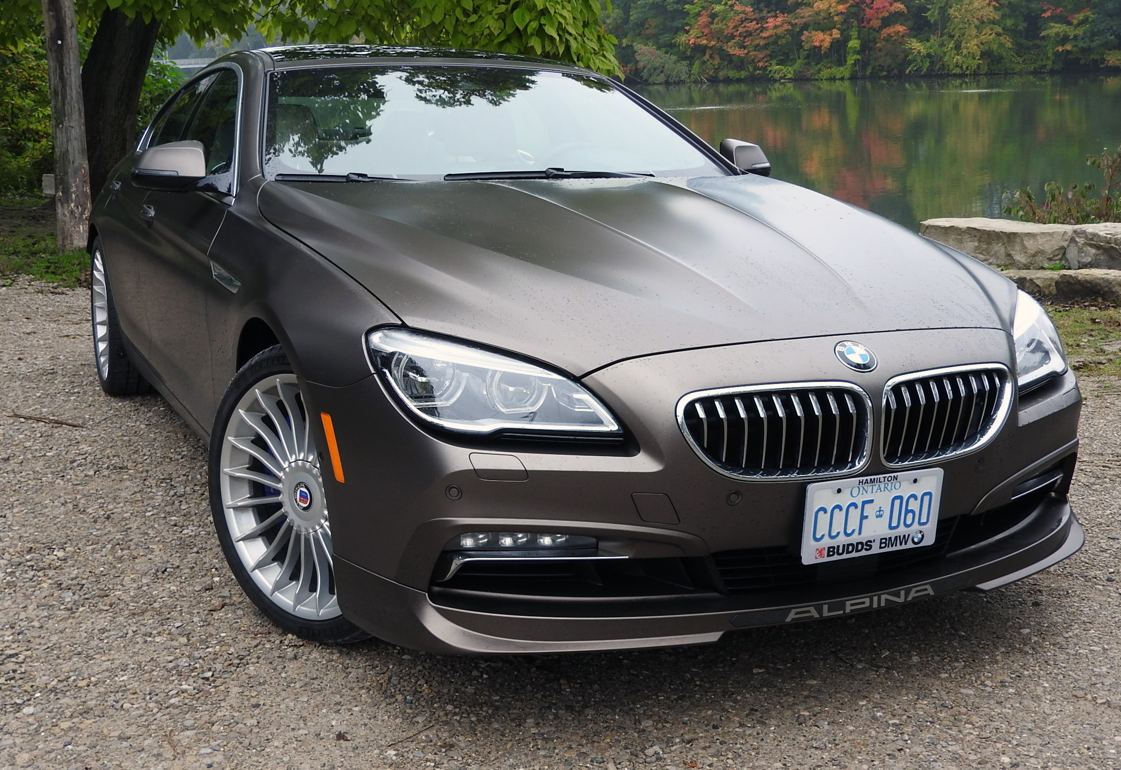 BMW Alpina B6 >> Review 2019 Bmw Alpina B6 Gran Coupe Wheels Ca