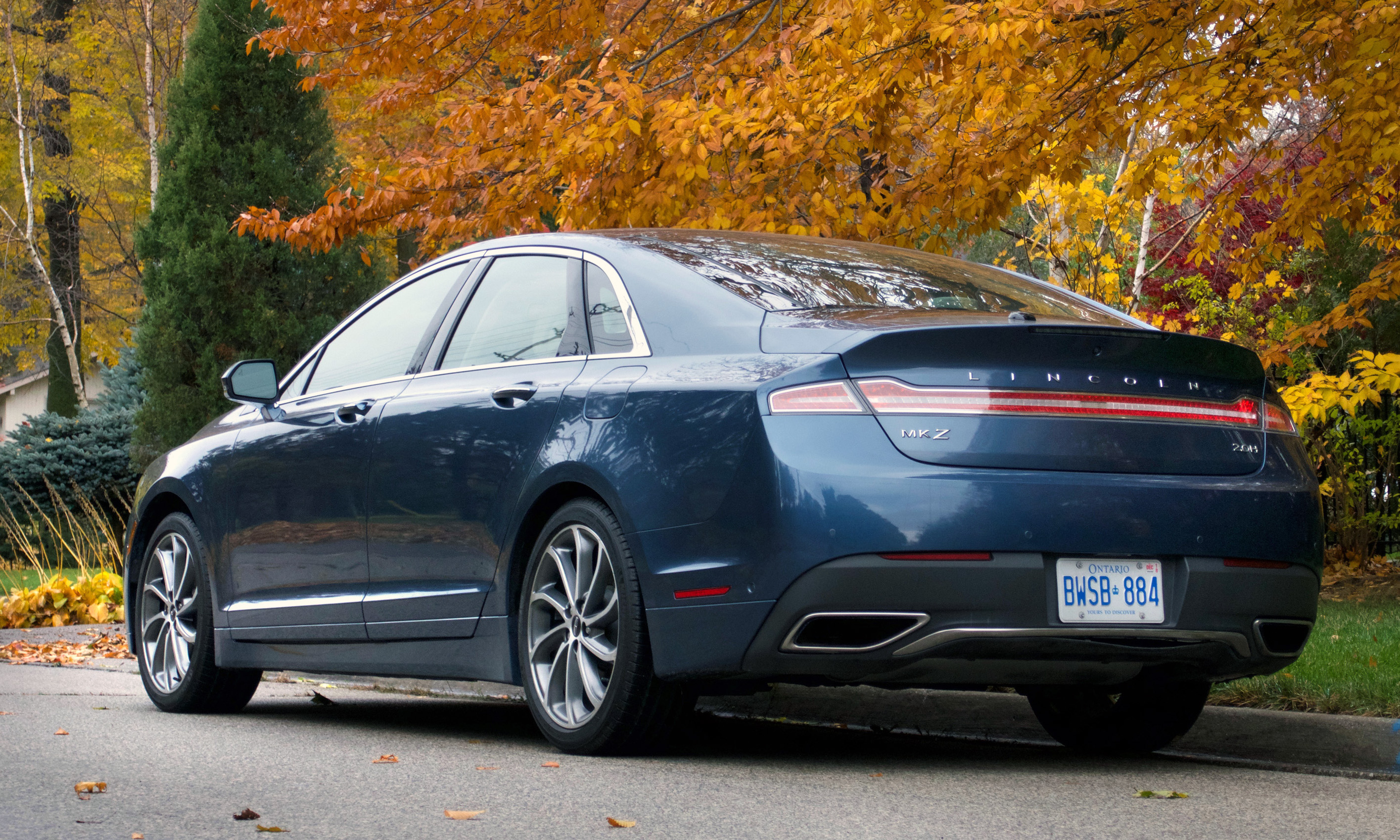 Review 2018 Lincoln MKZ Reserve 2.0H Hybrid