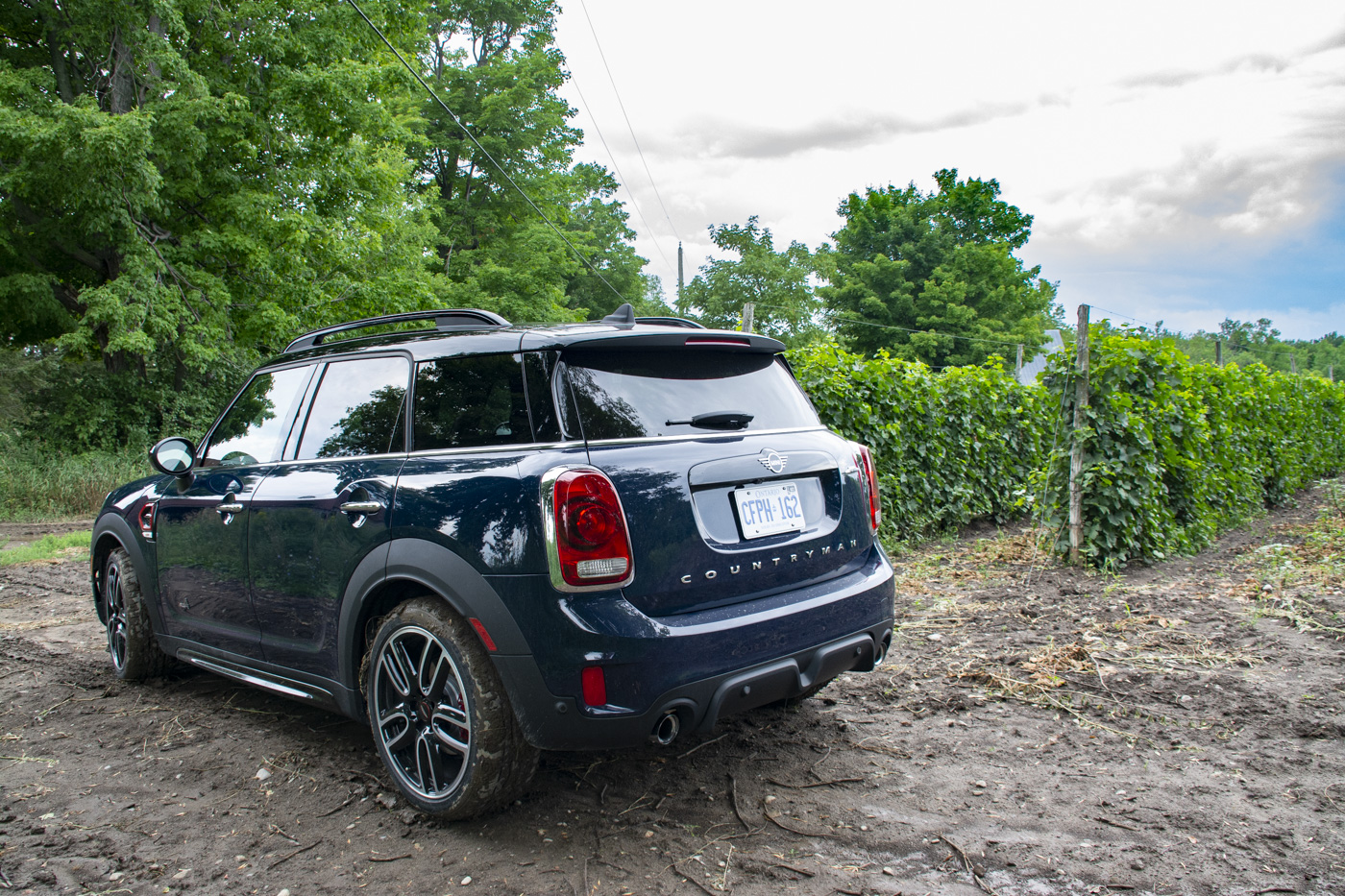 2019 Mini John Cooper Works Countryman Prince Edward County Road