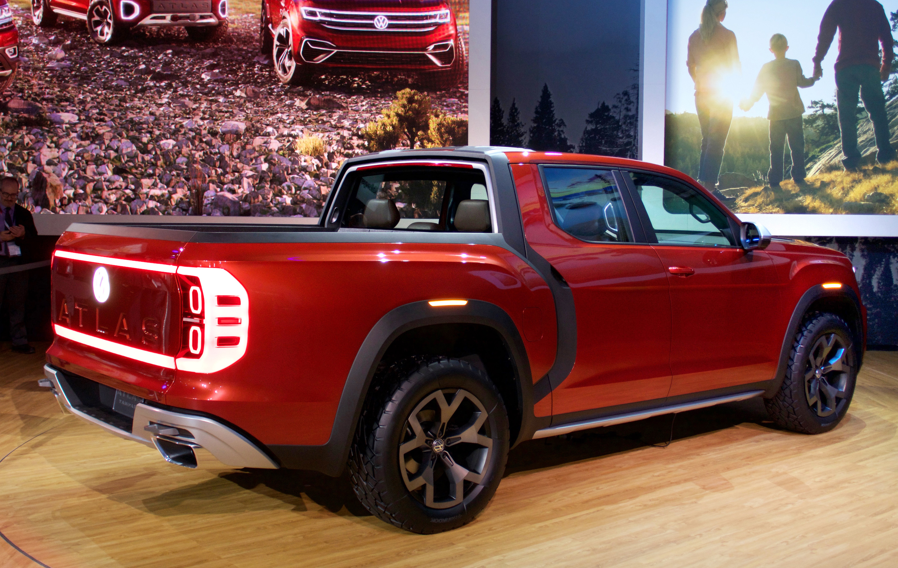 VW Pickup Concept Debuts in Brazil