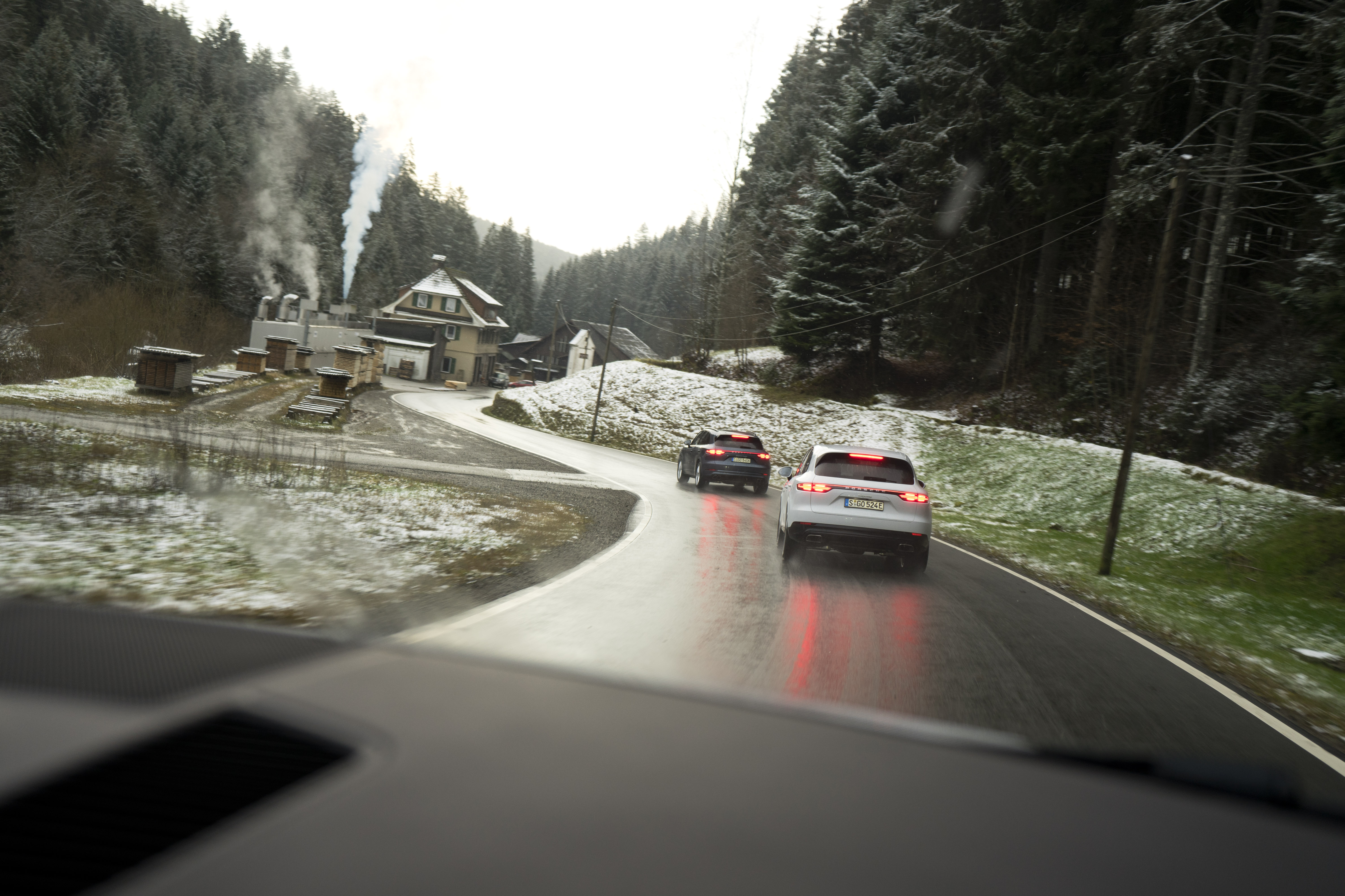 Porsche Black Forest Germany
