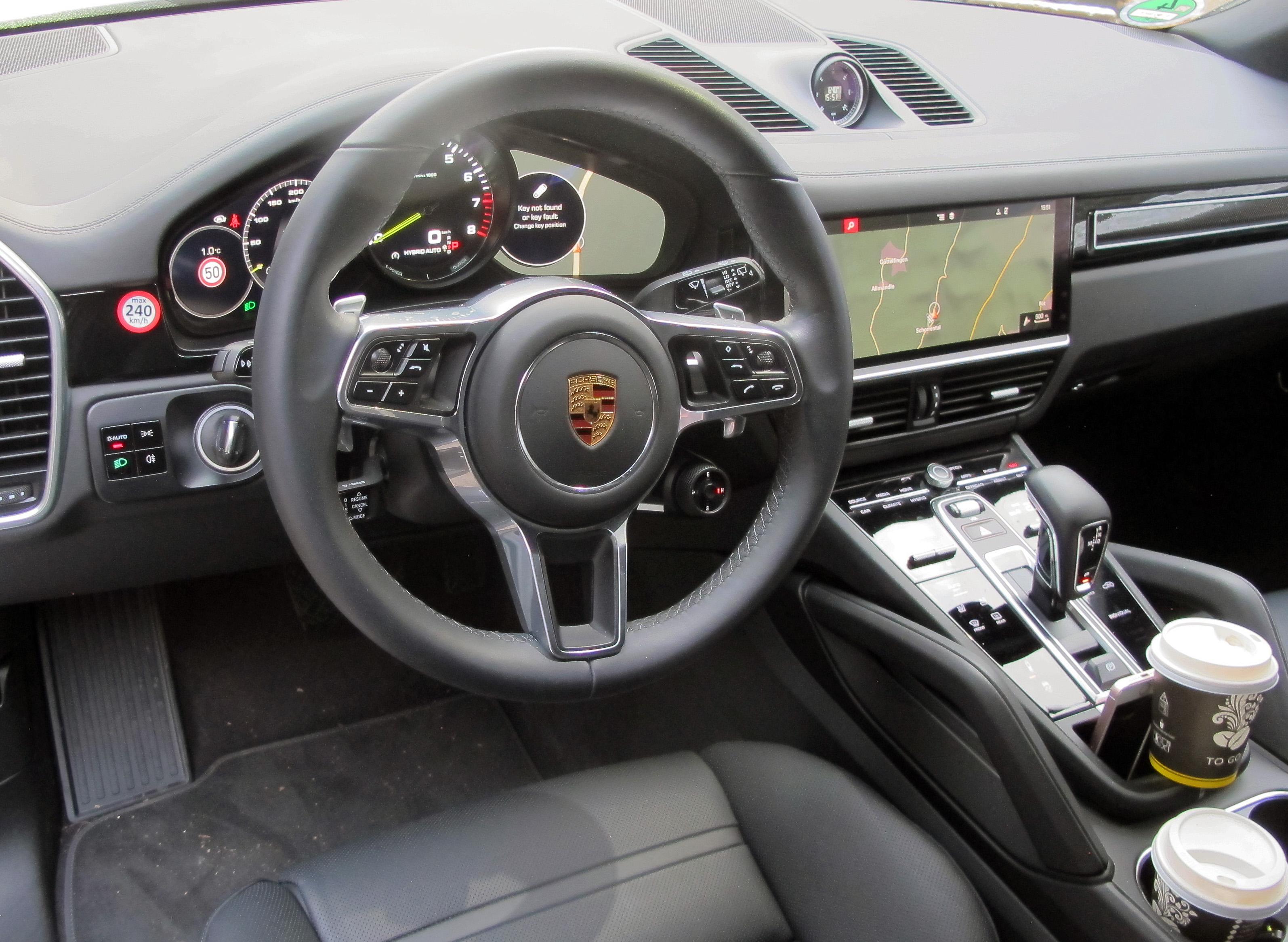 The first Drive 2019 Porsche Cayenne e-Hybrid
