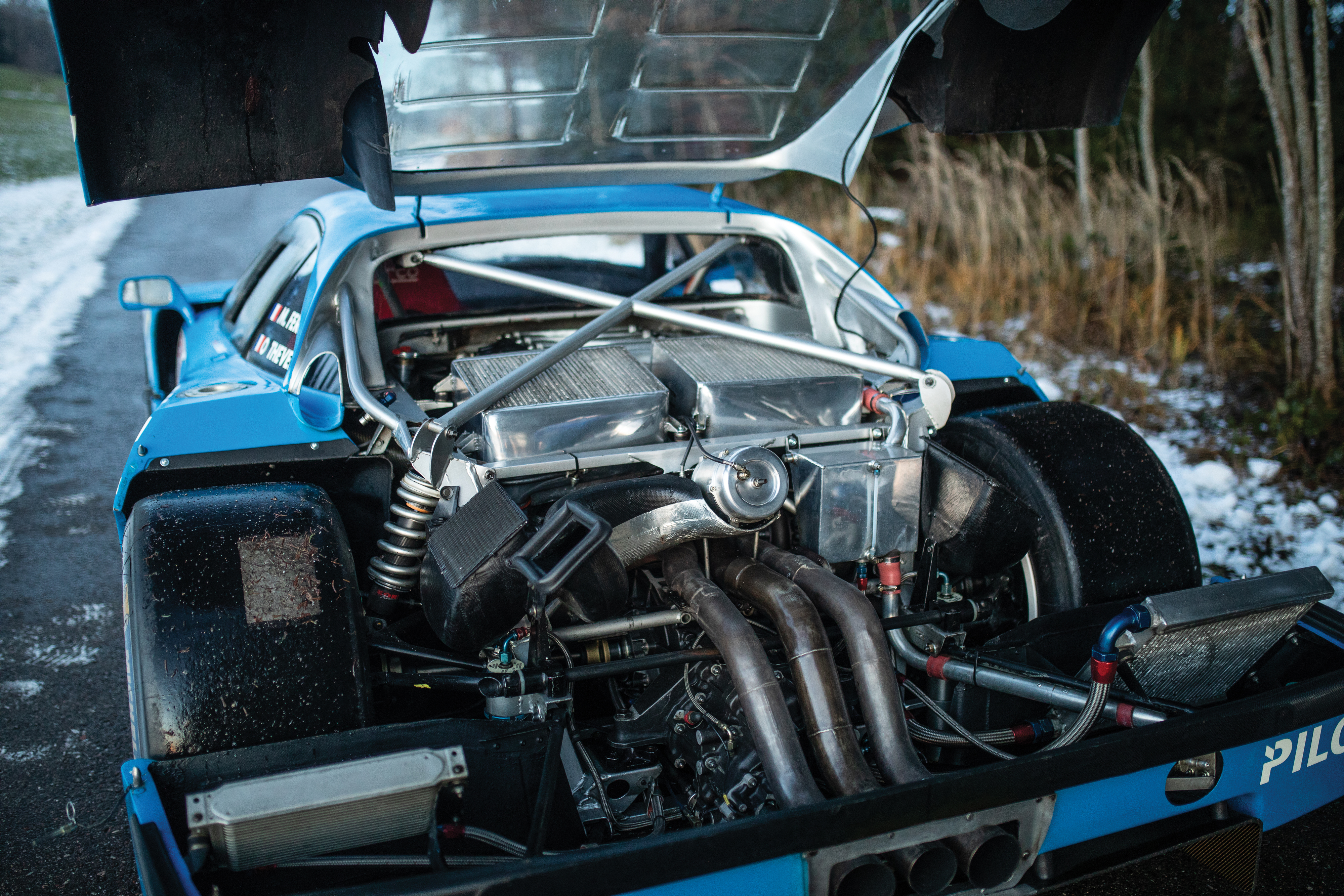 This Blue Ferrari F40 LM is Up For Auction Next Month