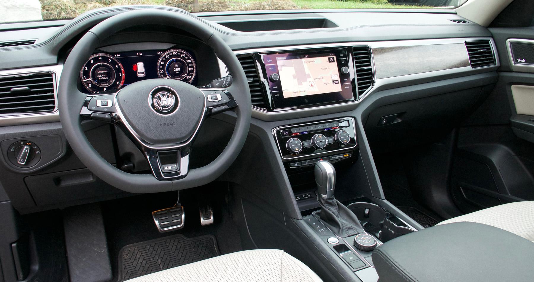 Review 2019 Volkswagen Atlas Execline Wheels Ca