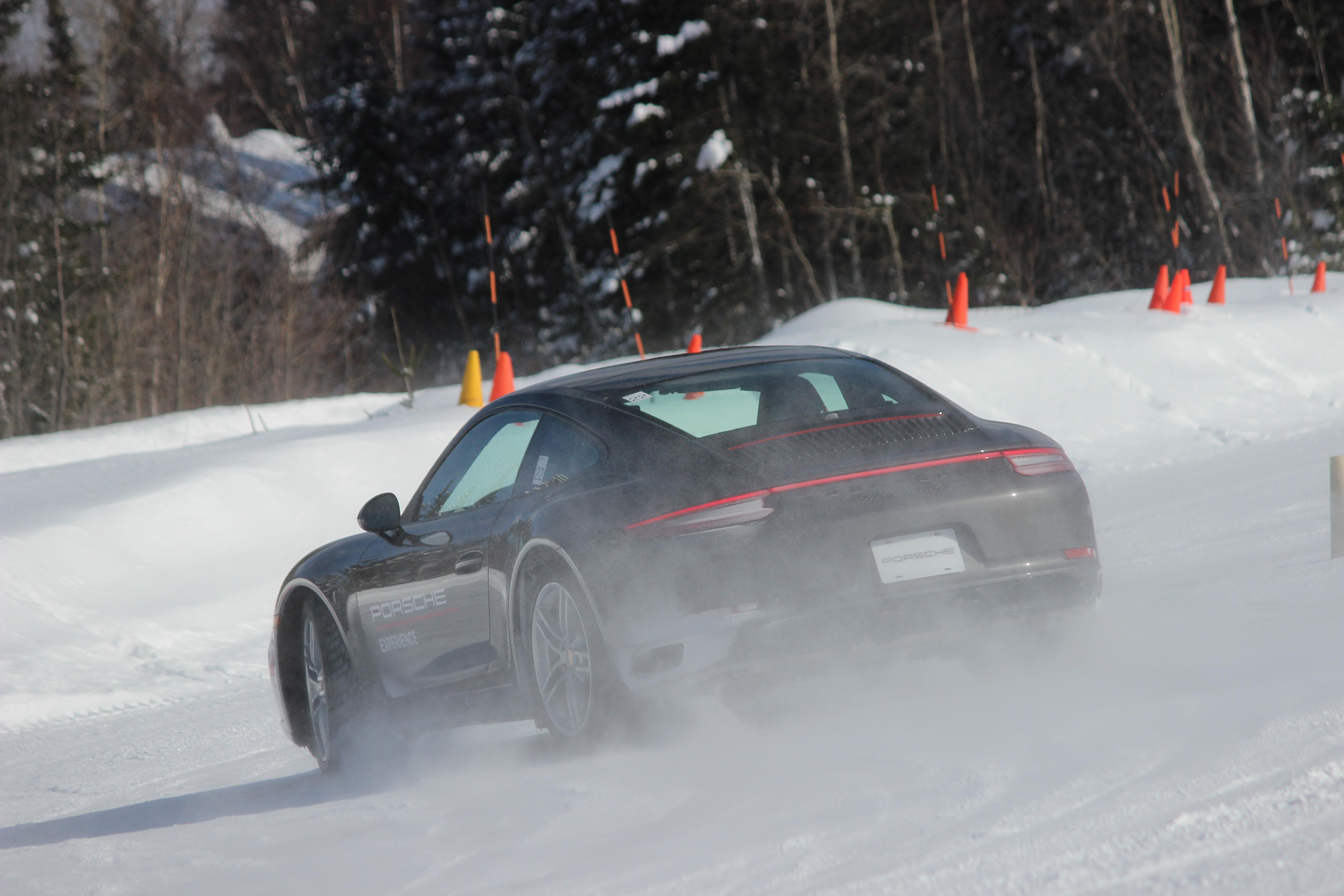 2019 Porsche Ice Experience The Art of the (Snow) Drift