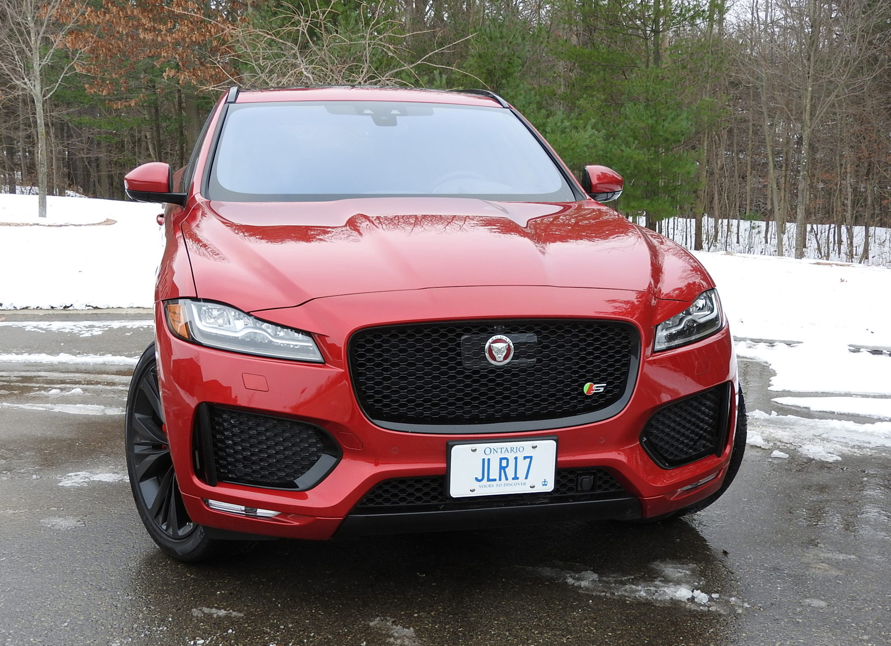 Review 2019 Jaguar F-Pace S