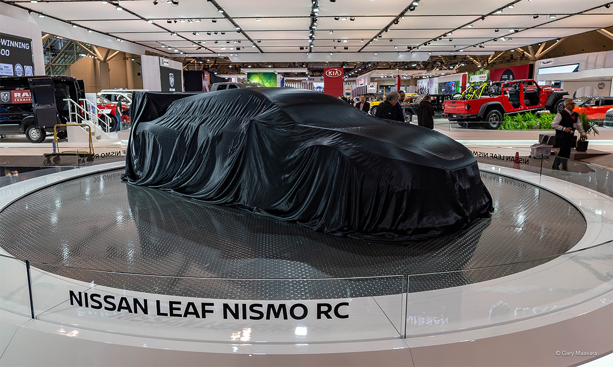 TrackWorthy - CIAS_Nissan Leaf Nismo RC under wrap