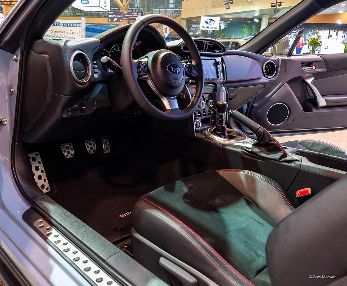 TrackWorthy - CIAS_Subaru BRZ interior
